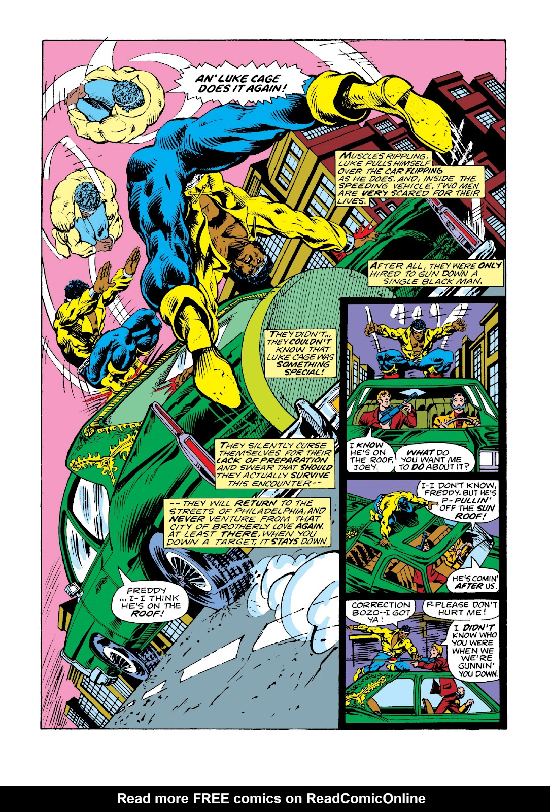 Read online Marvel Masterworks: Luke Cage, Power Man comic -  Issue # TPB 3 (Part 2) - 25