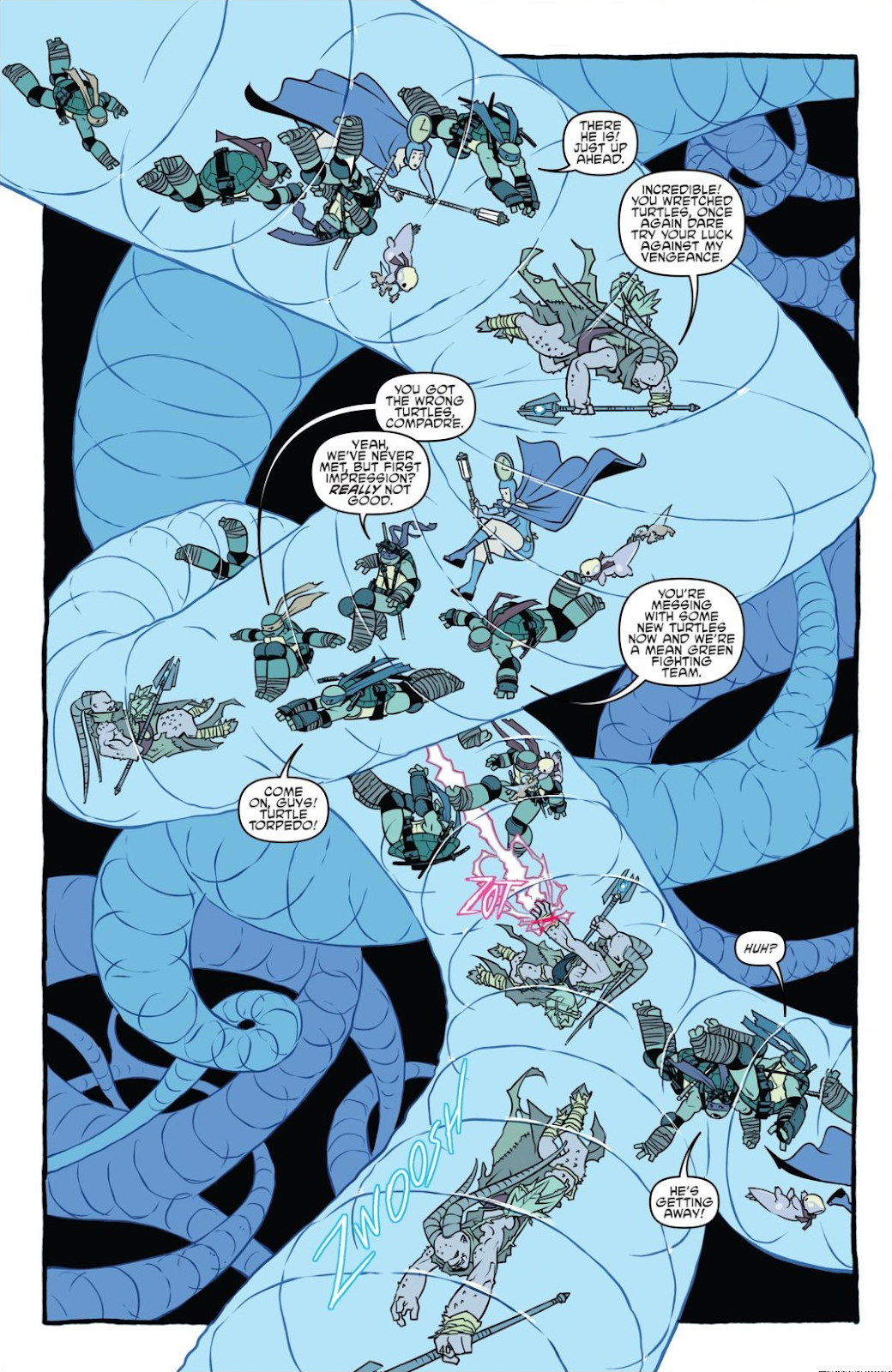 Read online Teenage Mutant Ninja Turtles: The IDW Collection comic -  Issue # TPB 8 (Part 1) - 40