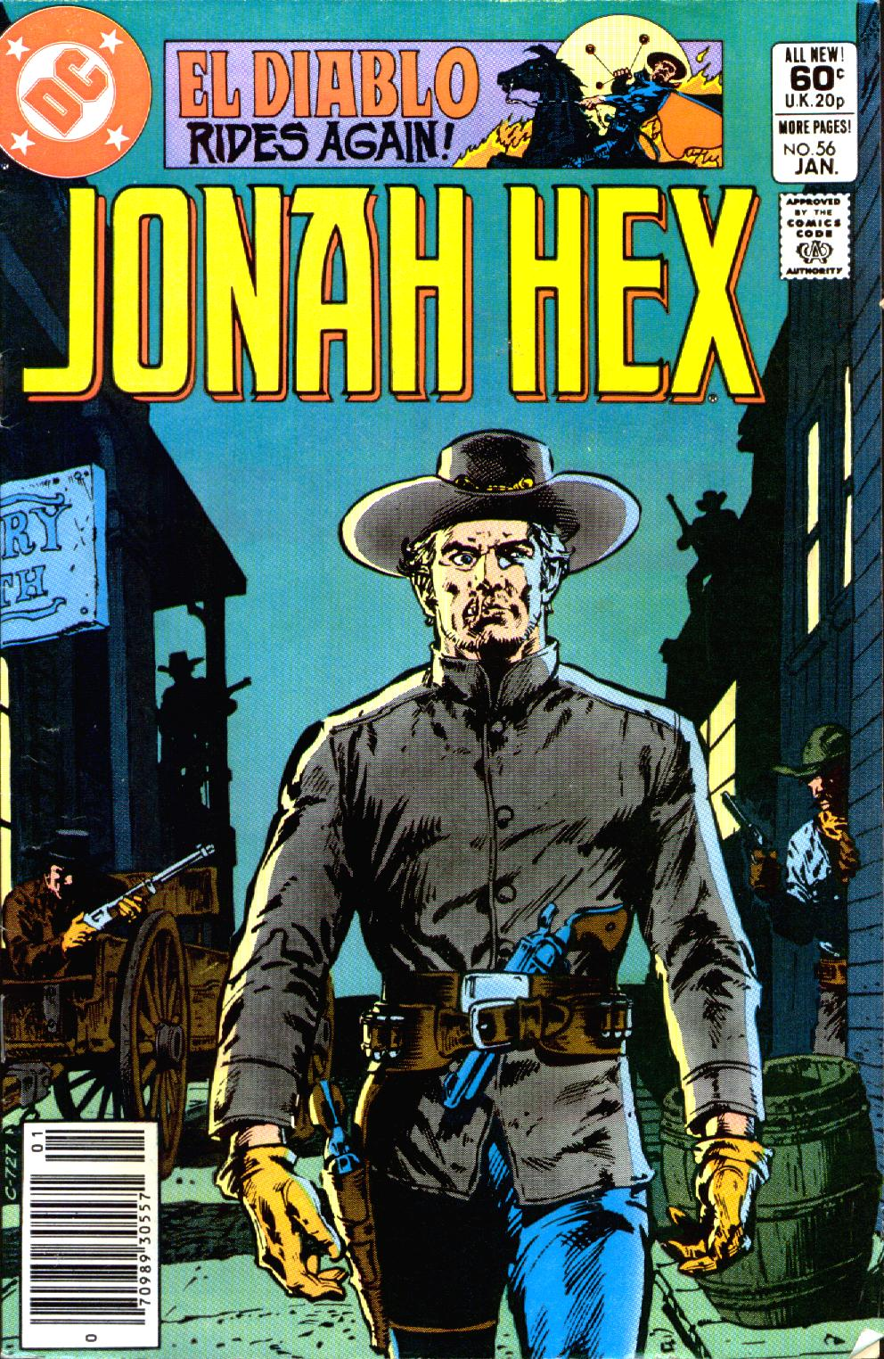 Jonah Hex (1977) 56 Page 1