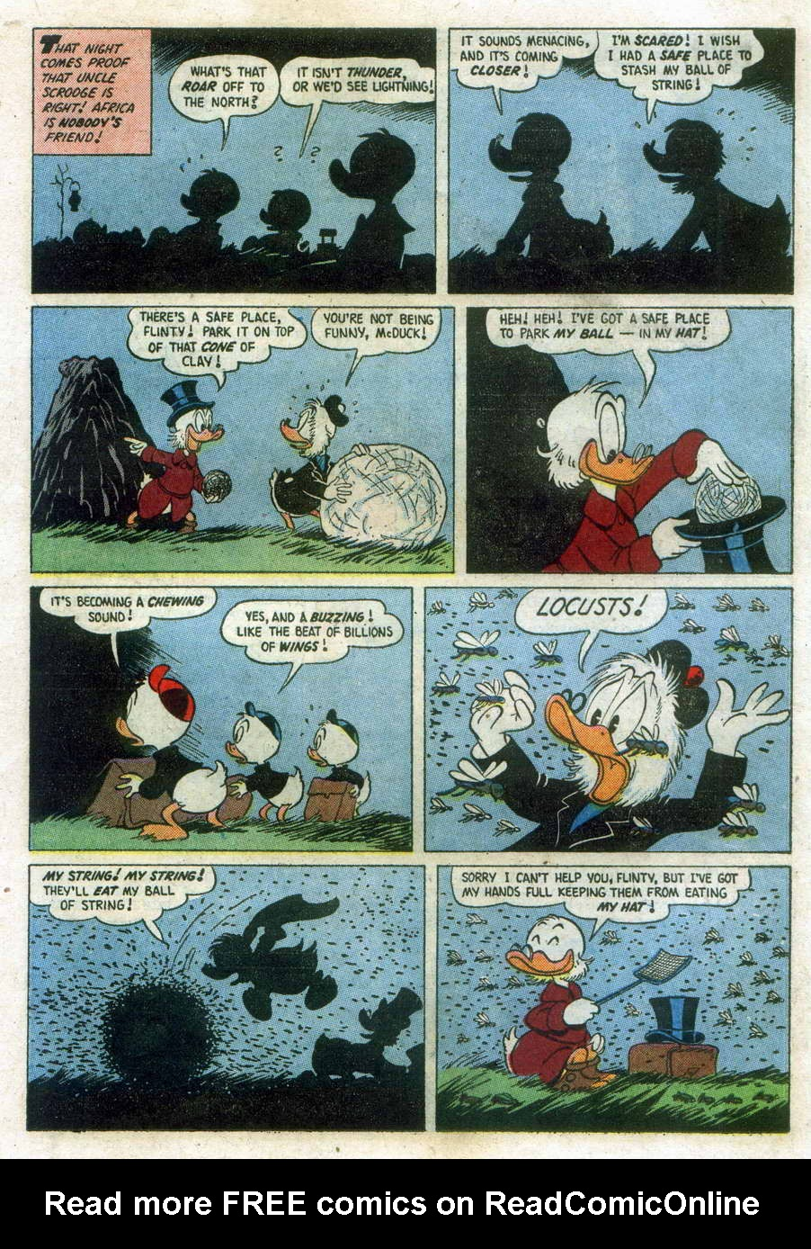 Read online Uncle Scrooge (1953) comic -  Issue #15 - 18
