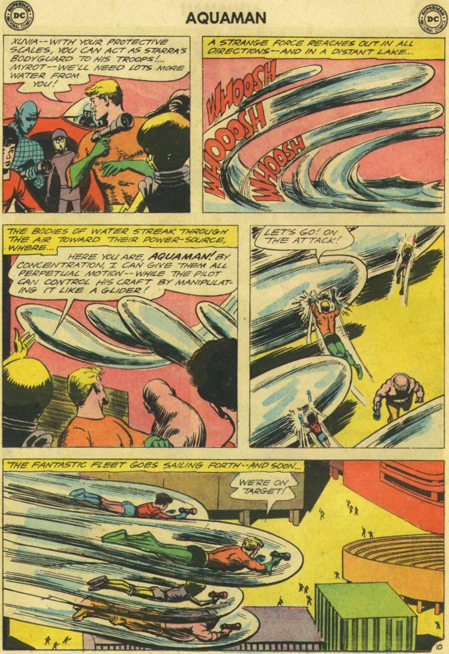 Read online Aquaman (1962) comic -  Issue #12 - 28