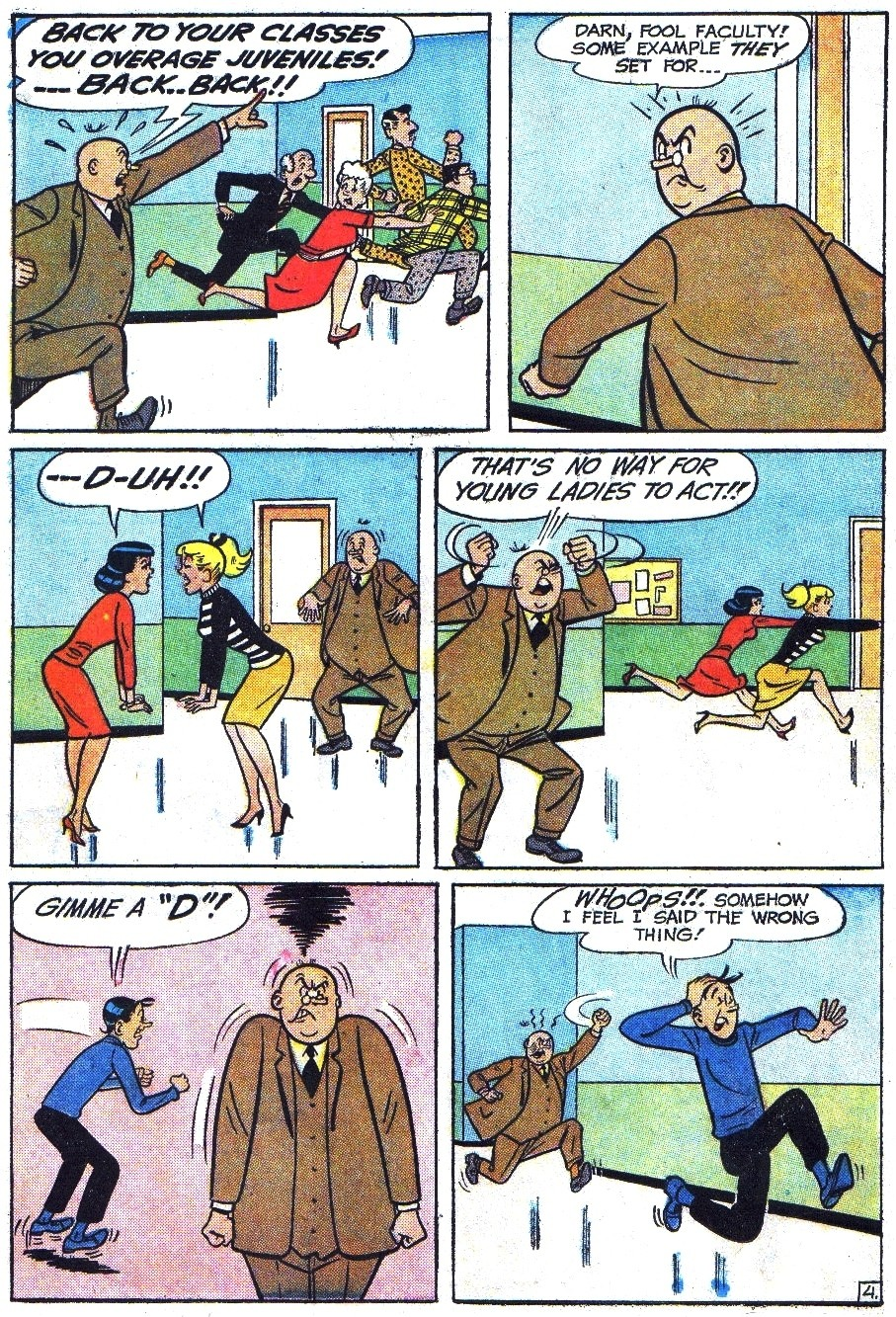 Read online Archie (1960) comic -  Issue #144 - 6