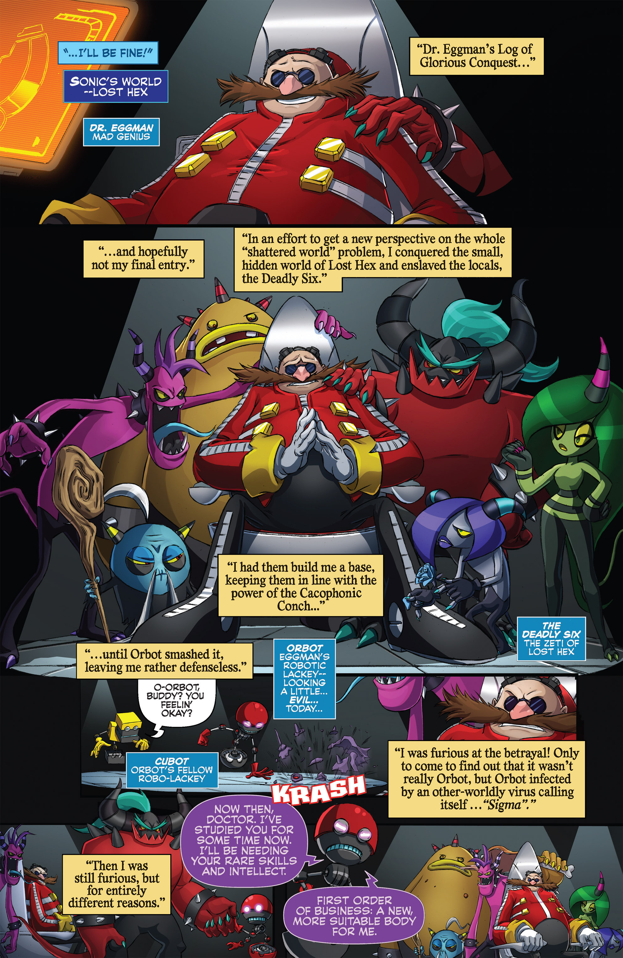 Read online Sonic Universe comic -  Issue #76 - 10