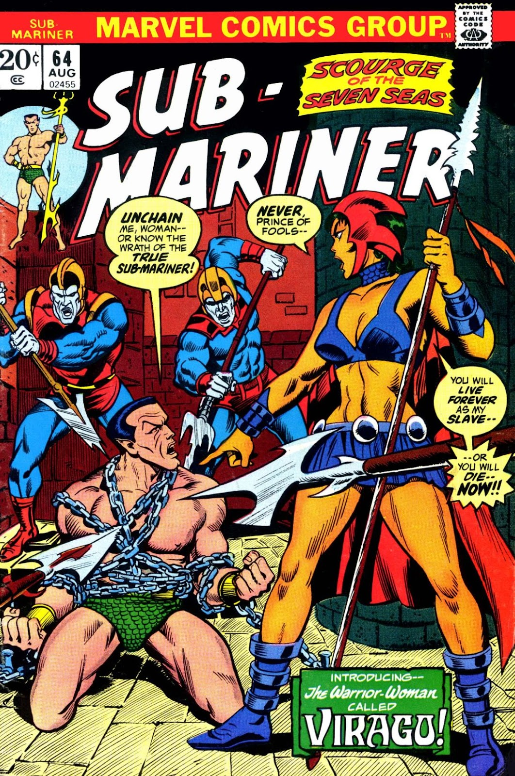 The Sub-Mariner 64 Page 1