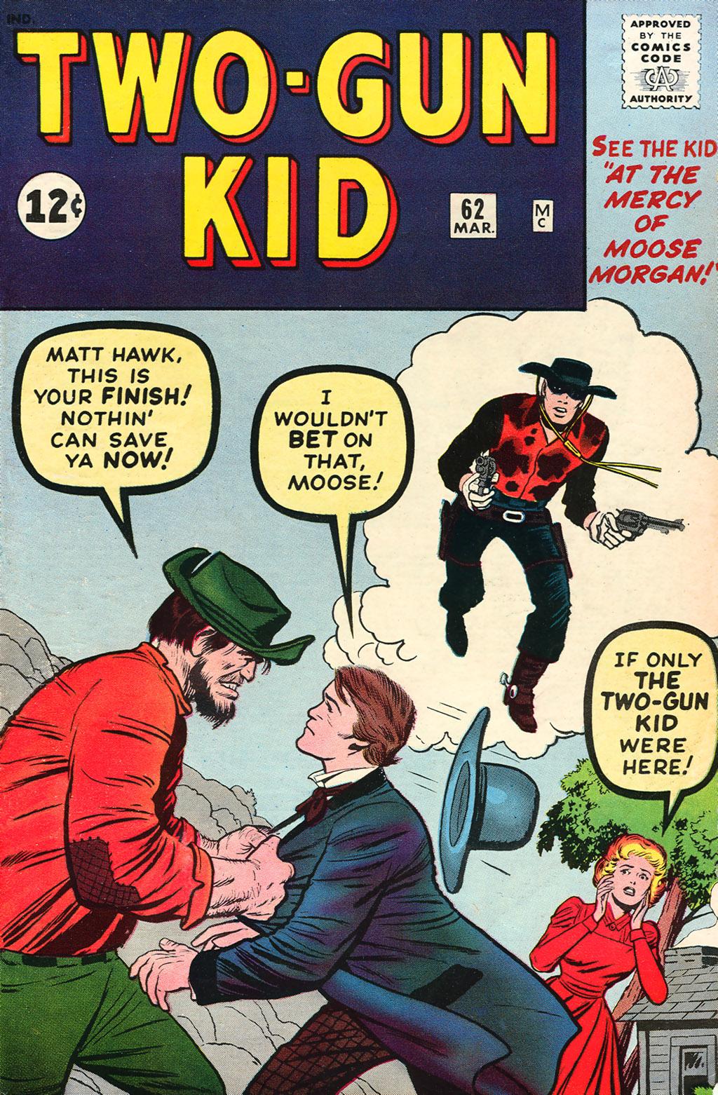 Read online Two-Gun Kid comic -  Issue #62 - 1
