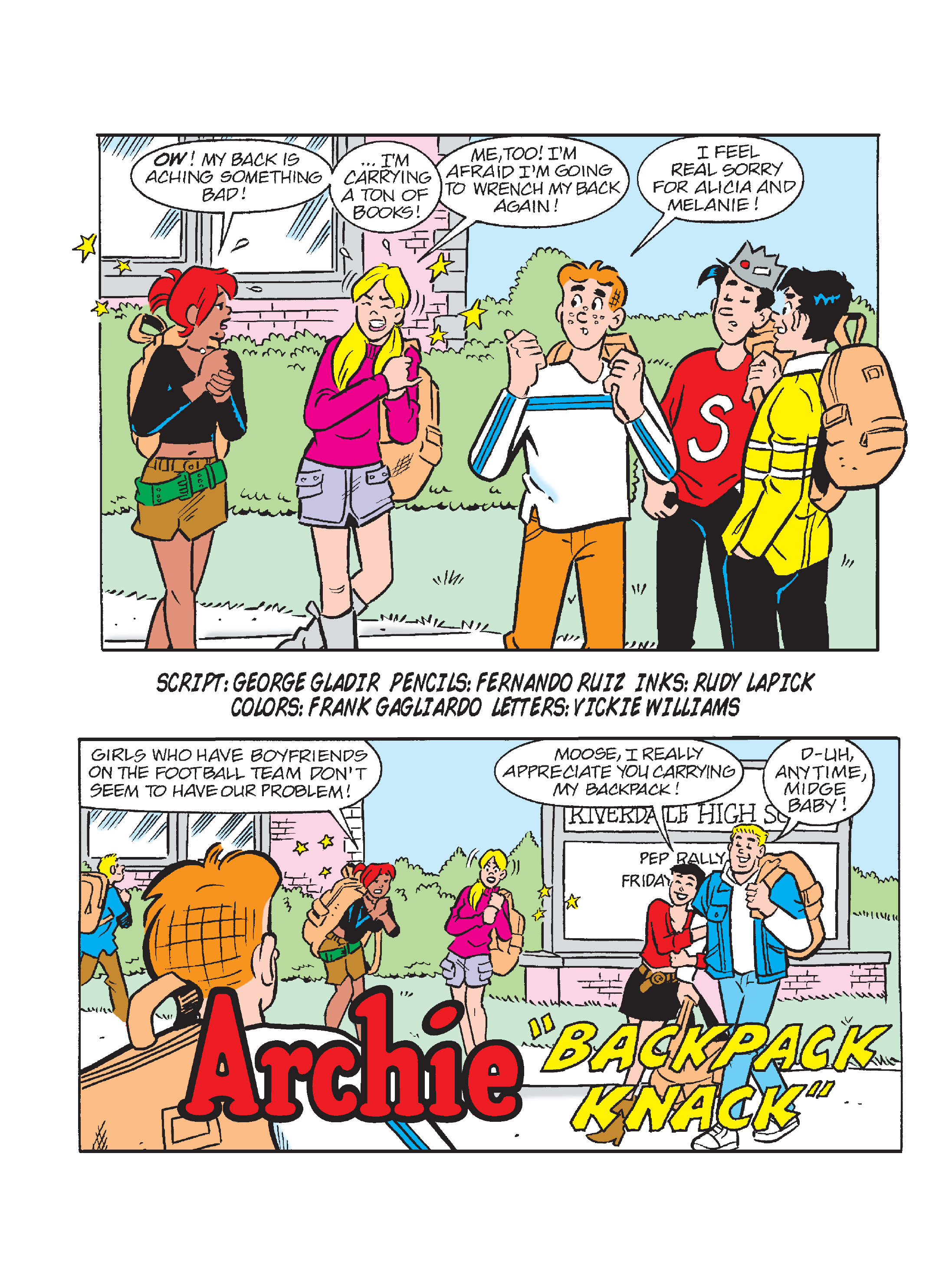 Read online Archie's Funhouse Double Digest comic -  Issue #17 - 8