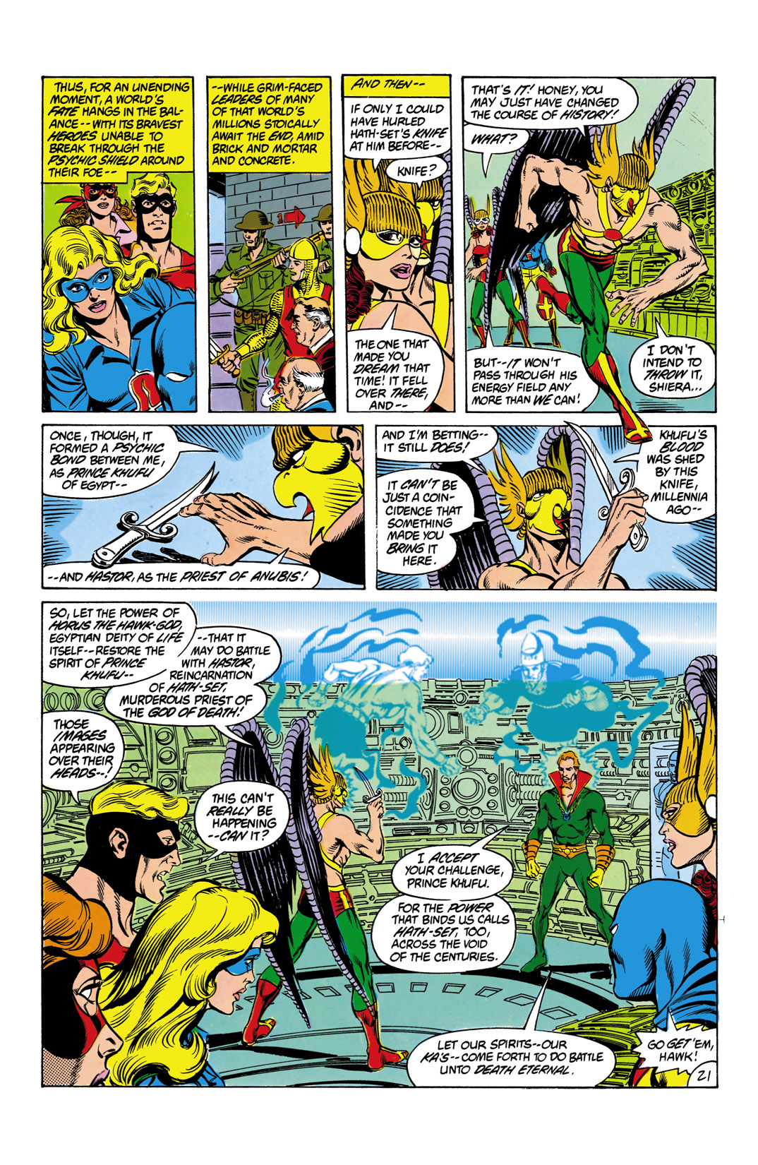 Read online All-Star Squadron comic -  Issue #12 - 22