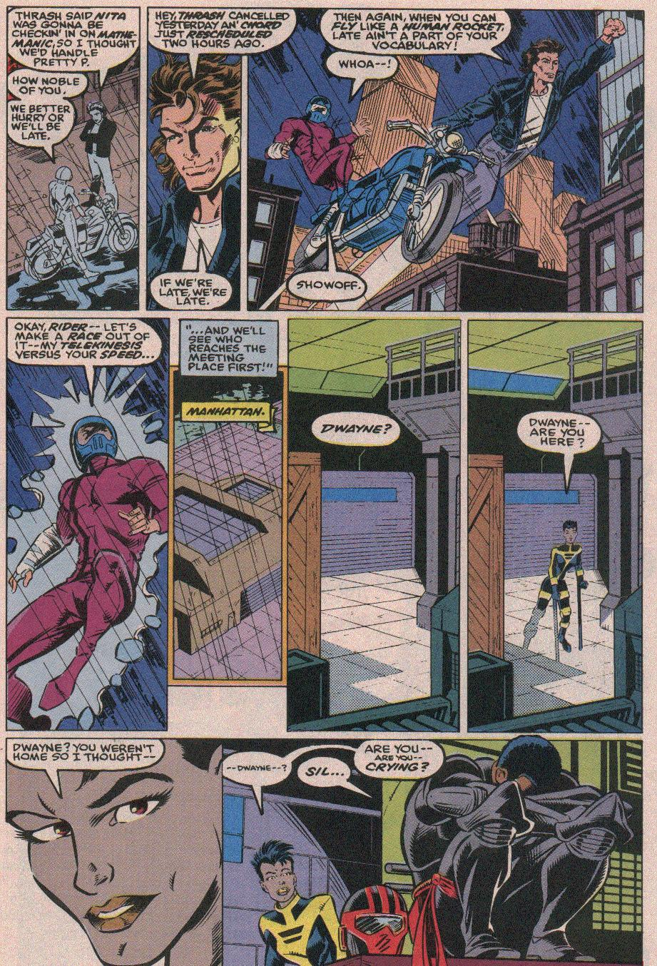The New Warriors Issue #18 #22 - English 8