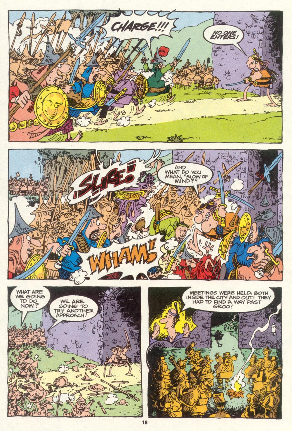 Read online Sergio Aragonés Groo the Wanderer comic -  Issue #86 - 14