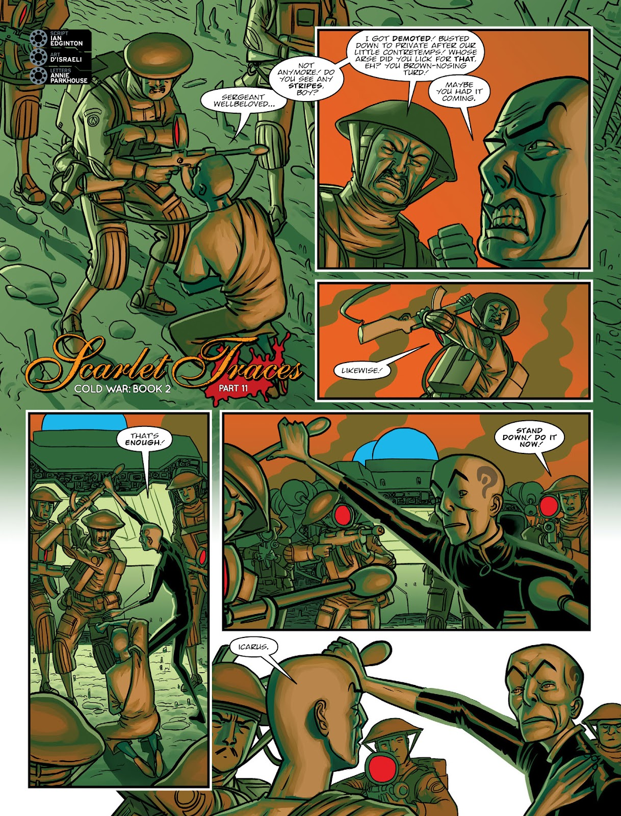 Read online 2000 AD comic -  Issue #2033 - 20