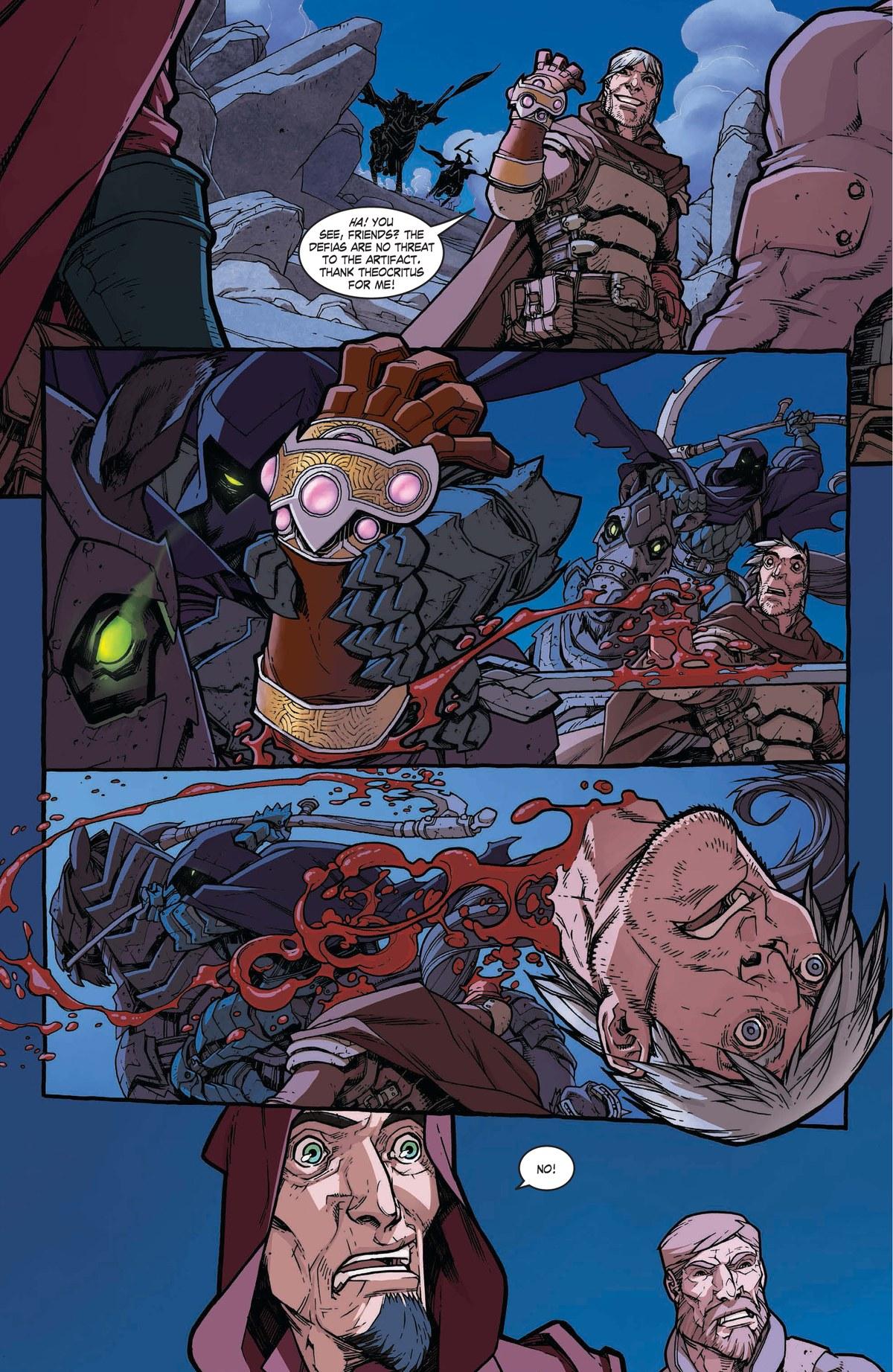 Read online World of Warcraft: Dark Riders comic -  Issue # Full - 33
