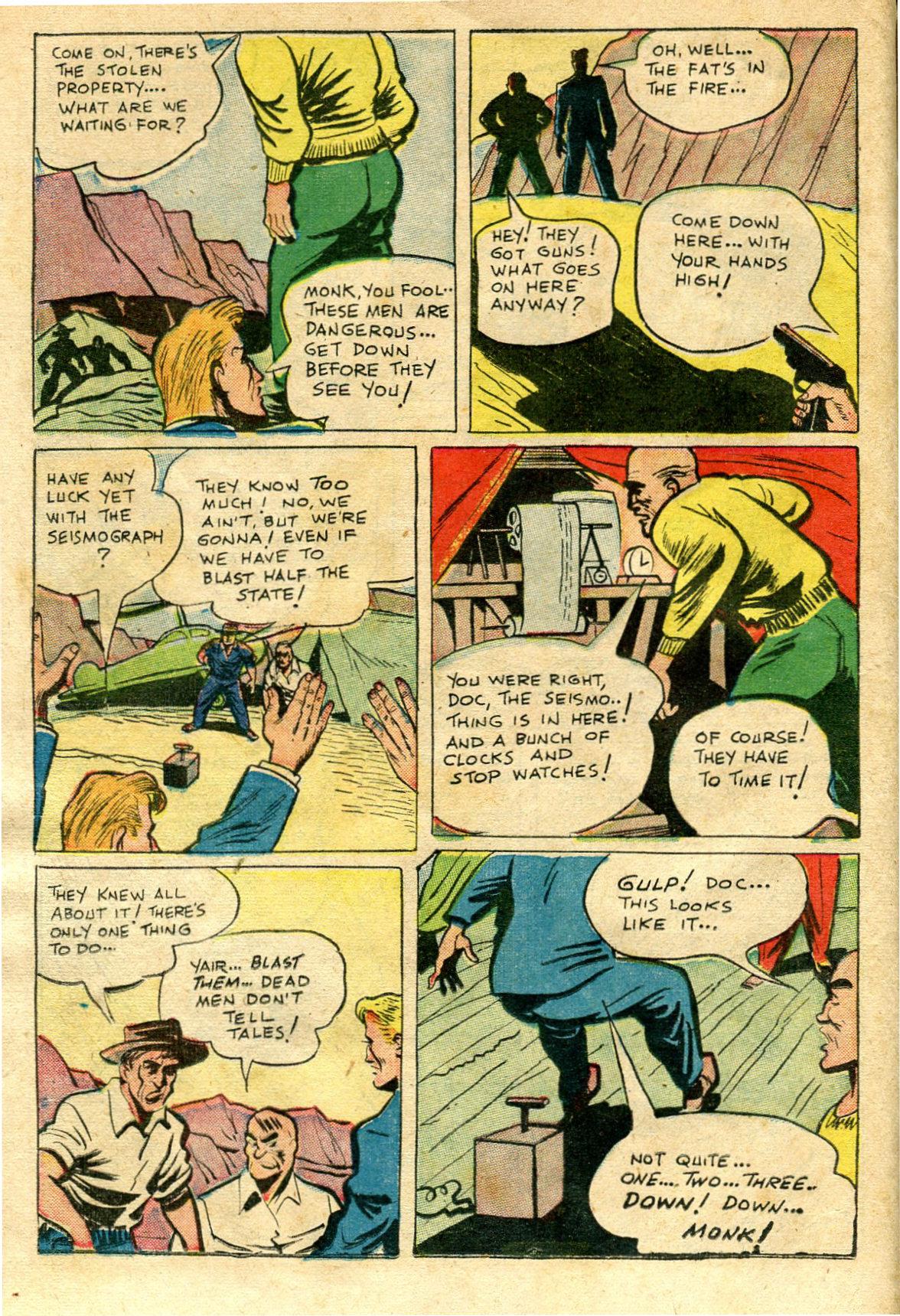 Read online Shadow Comics comic -  Issue #65 - 24