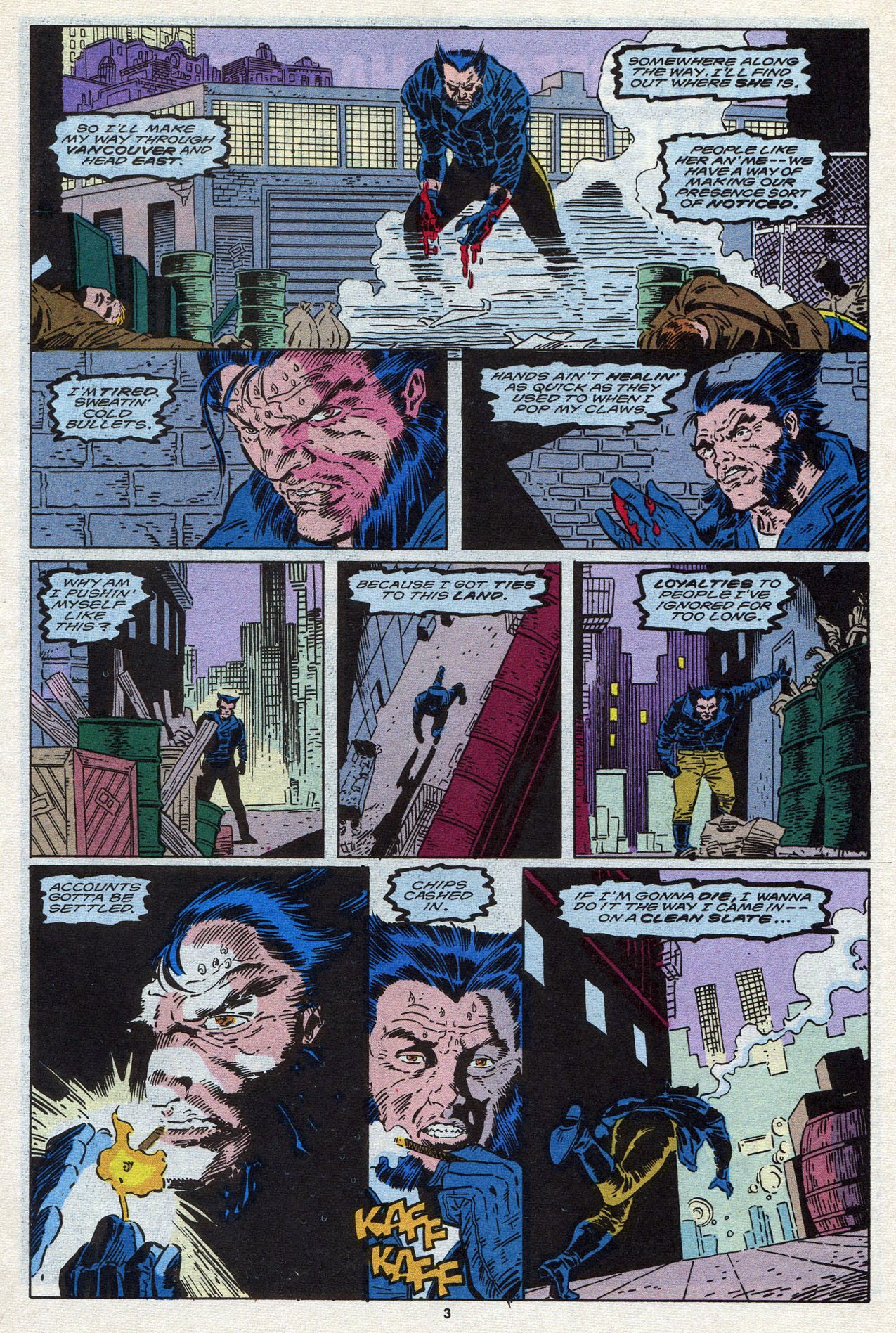 Read online Alpha Flight (1983) comic -  Issue #87 - 5