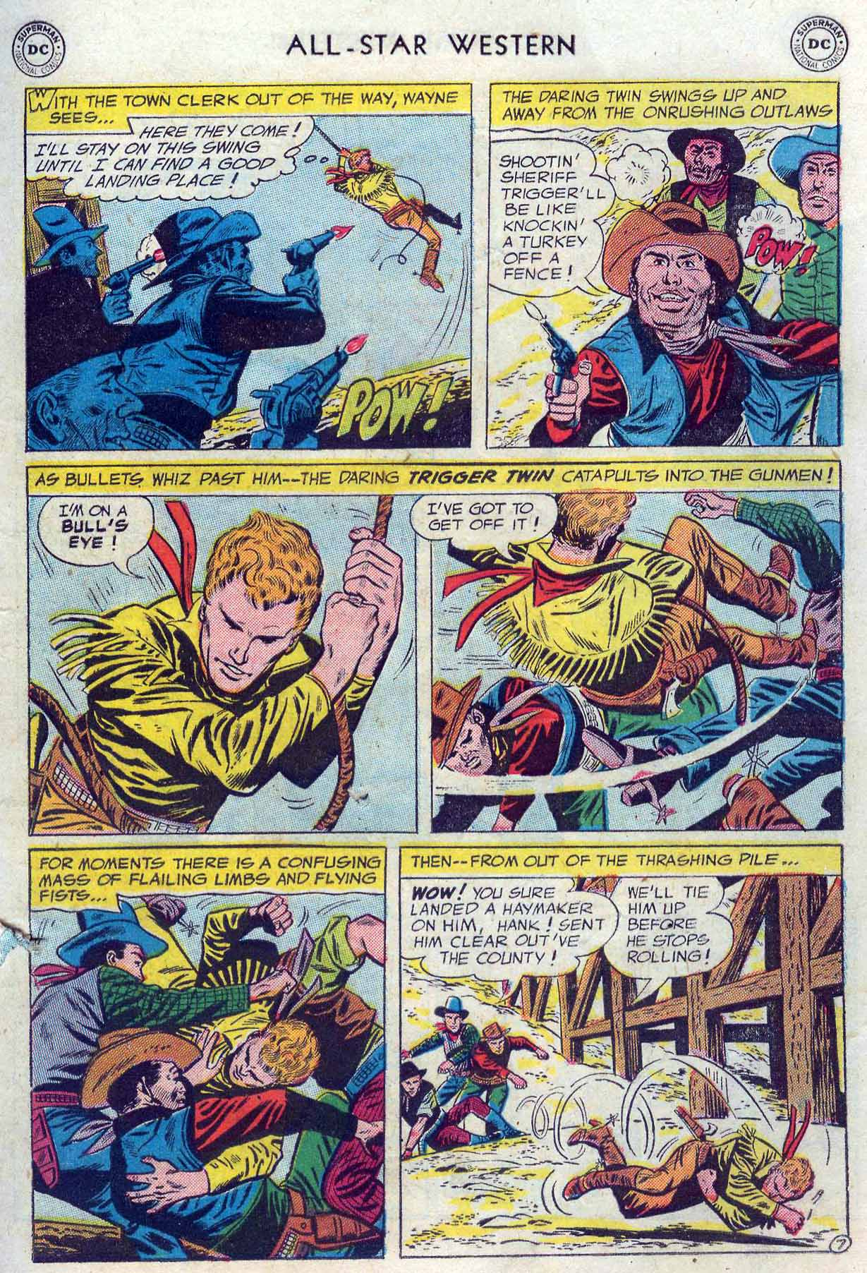 Read online All-Star Western (1951) comic -  Issue #85 - 9