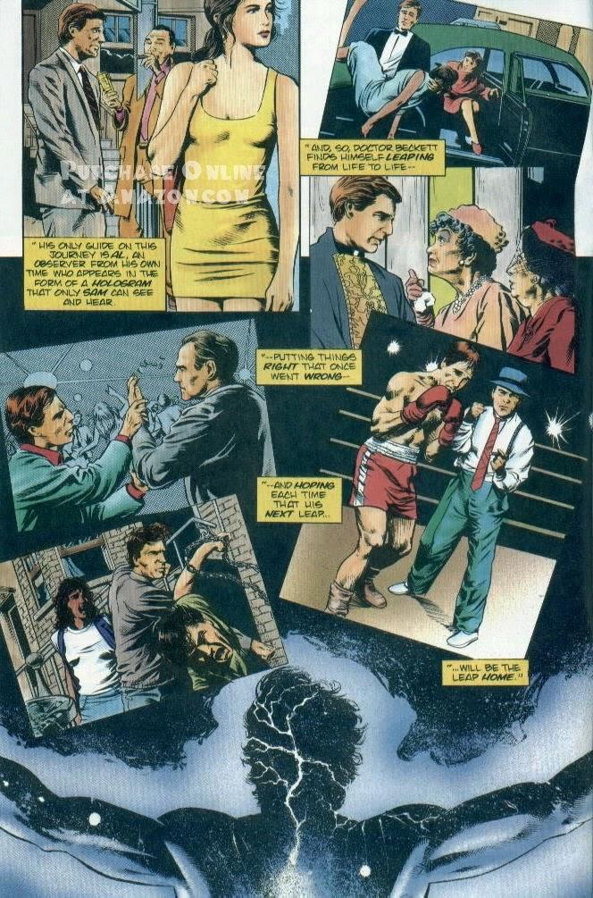 Read online Quantum Leap comic -  Issue #12 - 3
