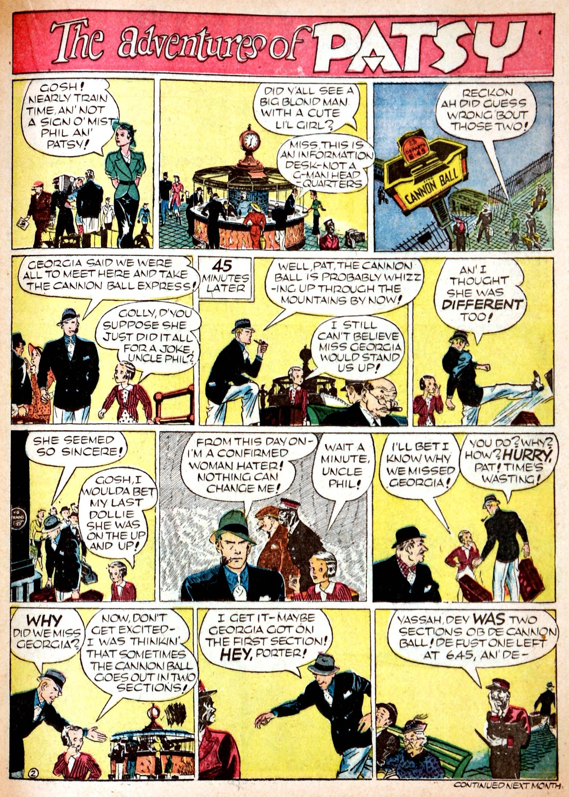 Read online Famous Funnies comic -  Issue #68 - 30