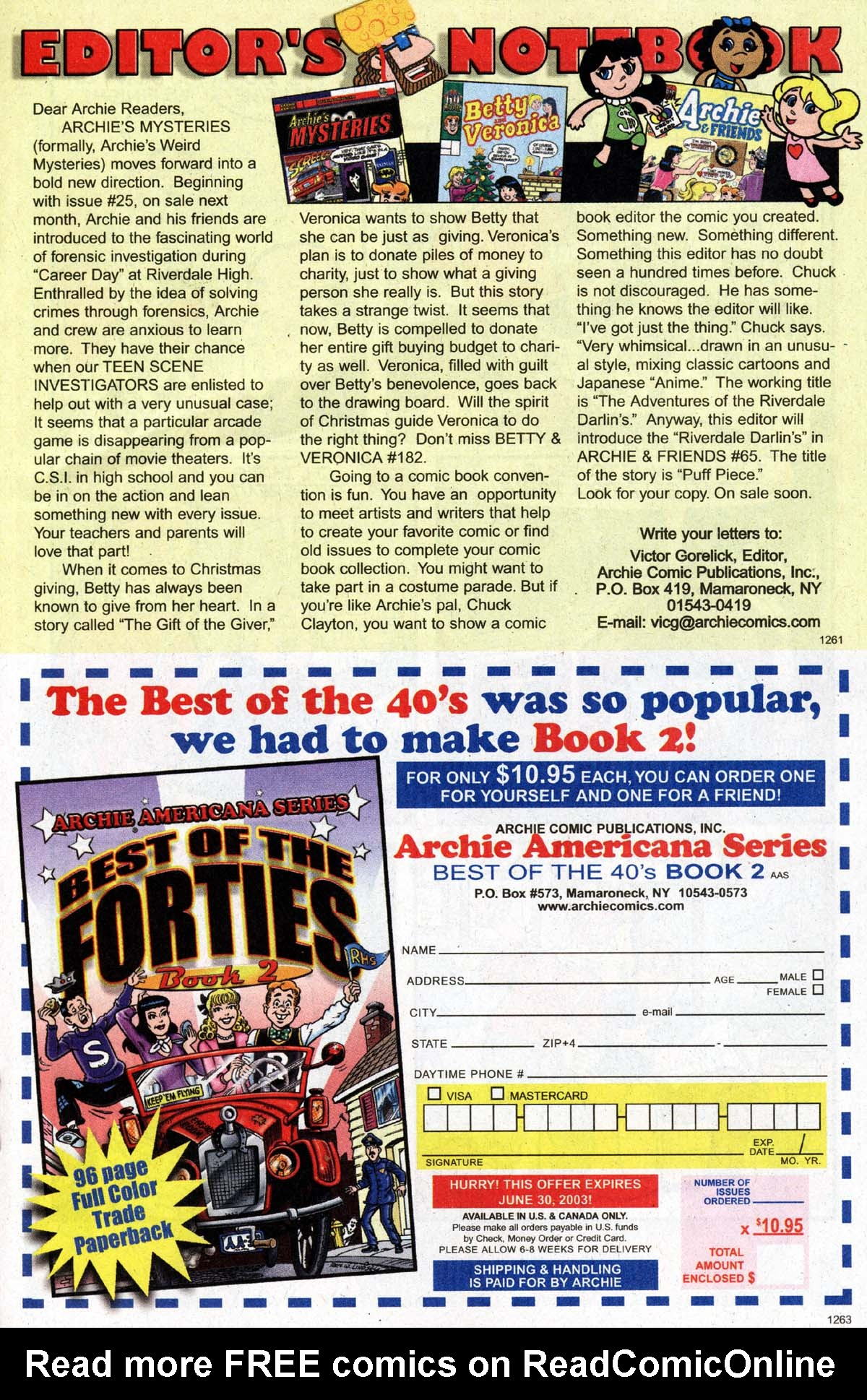 Read online Archie (1960) comic -  Issue #529 - 14