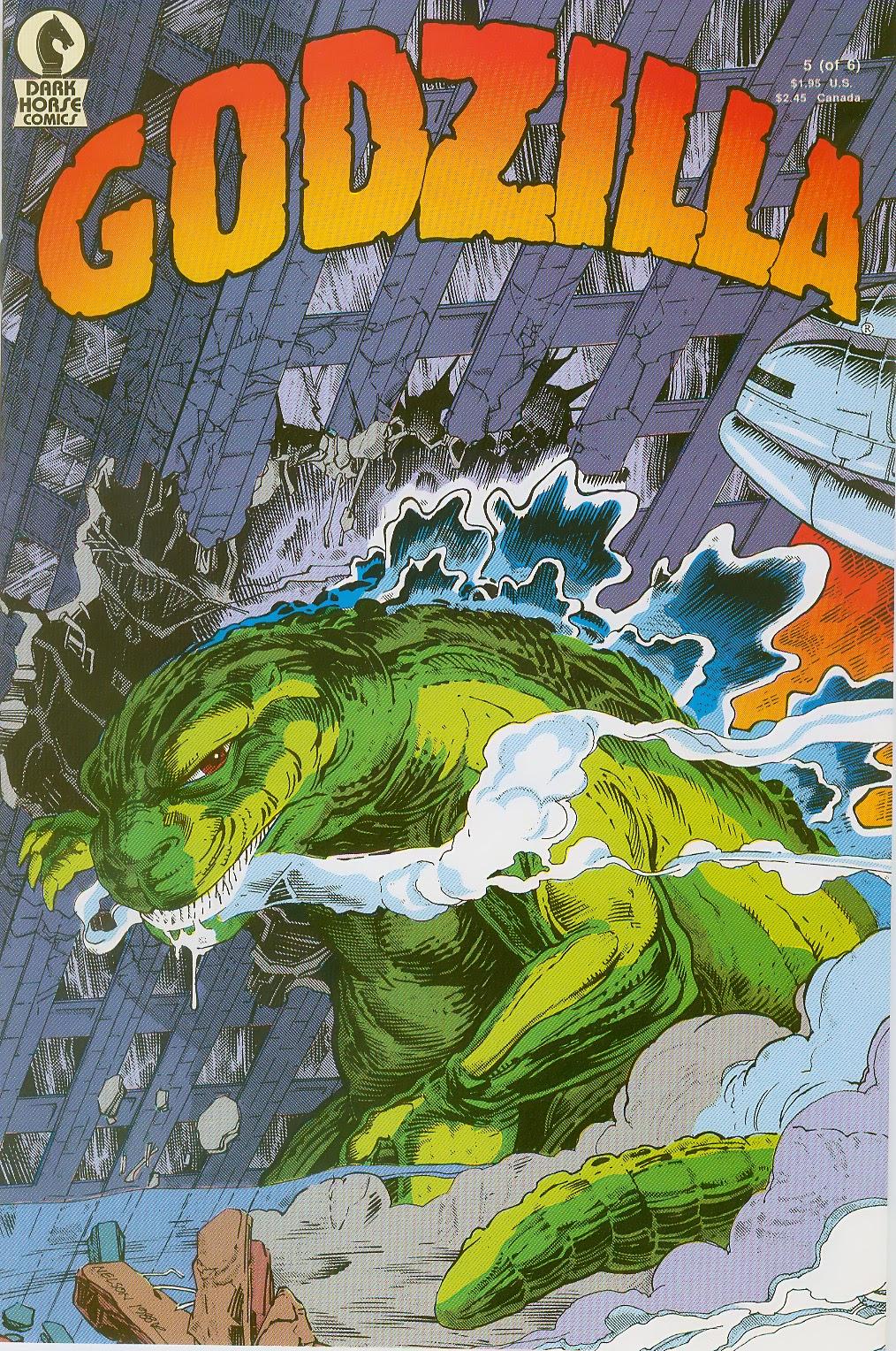 Godzilla (1988) 5 Page 1
