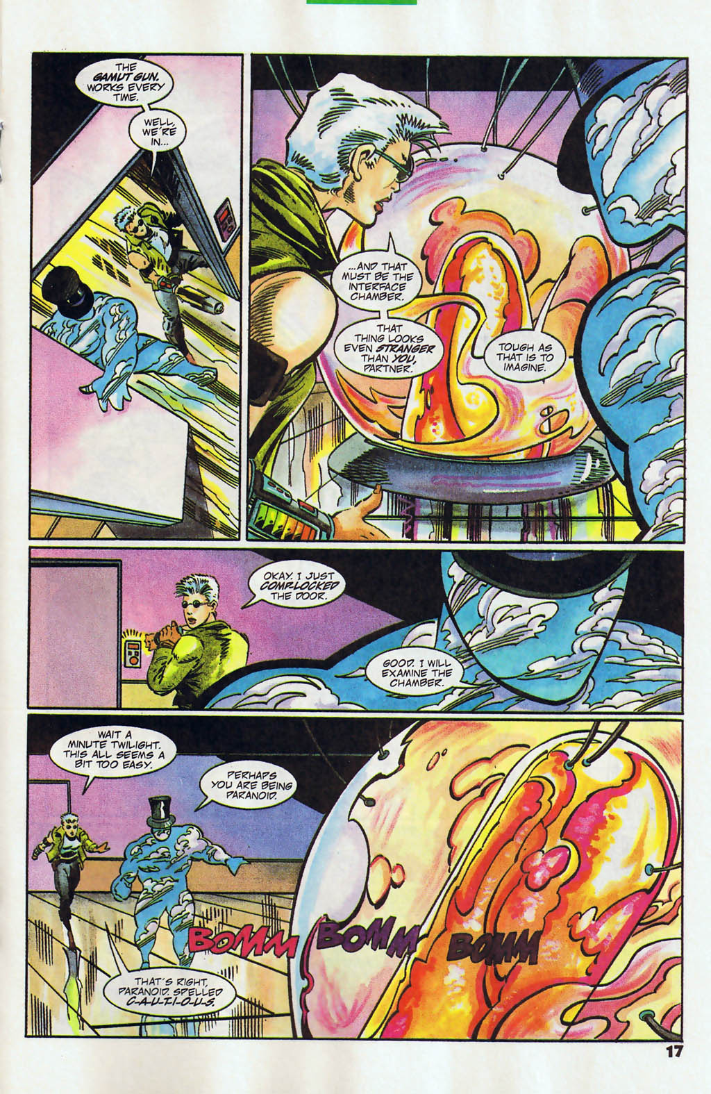 Read online Shadow Cabinet comic -  Issue #12 - 13