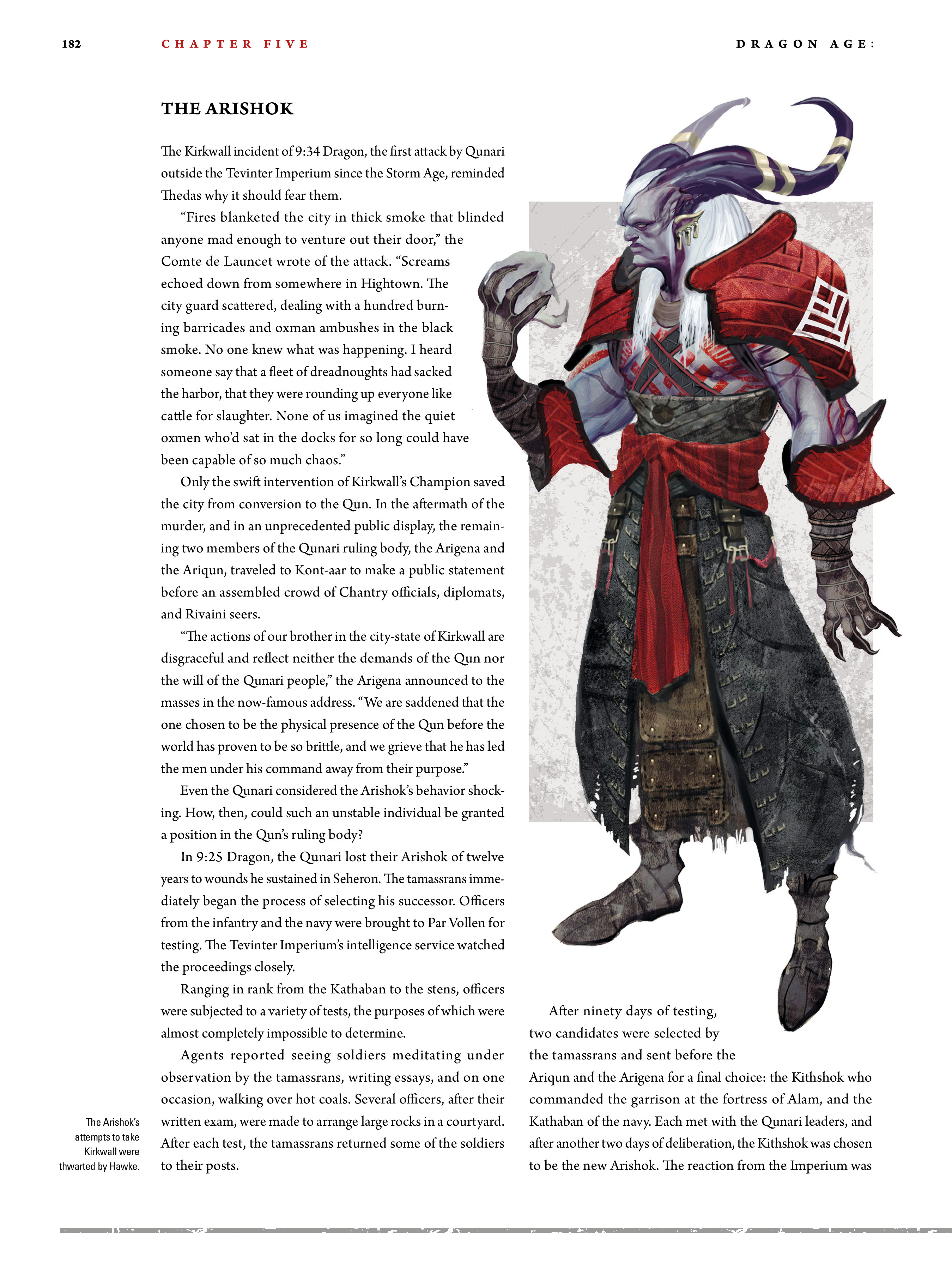 Read online Dragon Age: The World of Thedas comic -  Issue # TPB 2 - 177