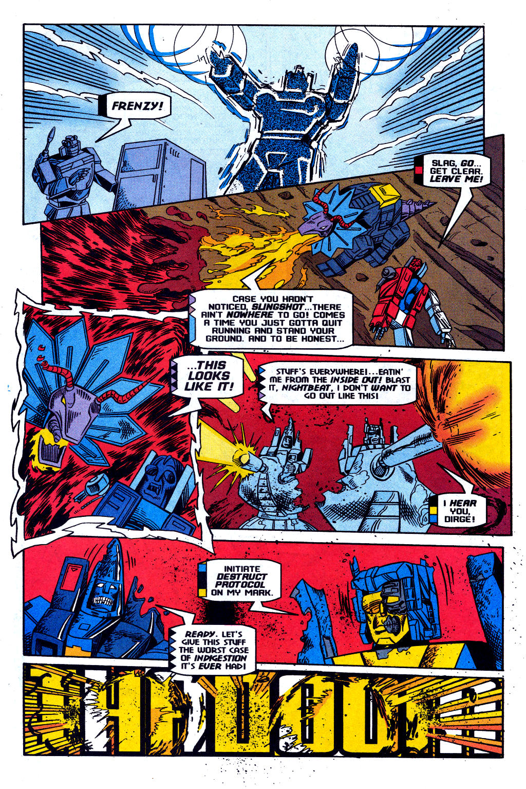 Read online Transformers: Generation 2 comic -  Issue #12 - 28