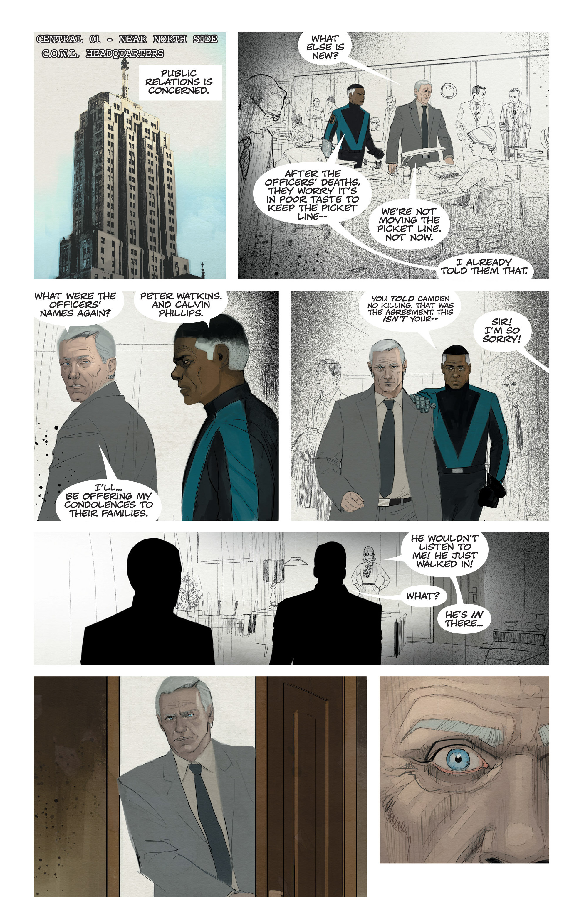 Read online C.O.W.L. comic -  Issue #11 - 5
