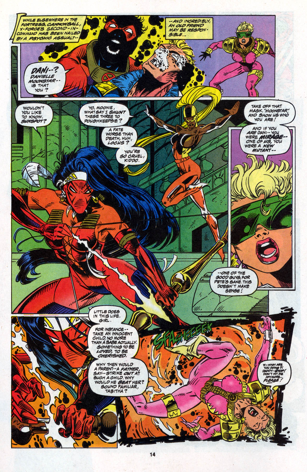 Read online X-Force (1991) comic -  Issue #28 - 15