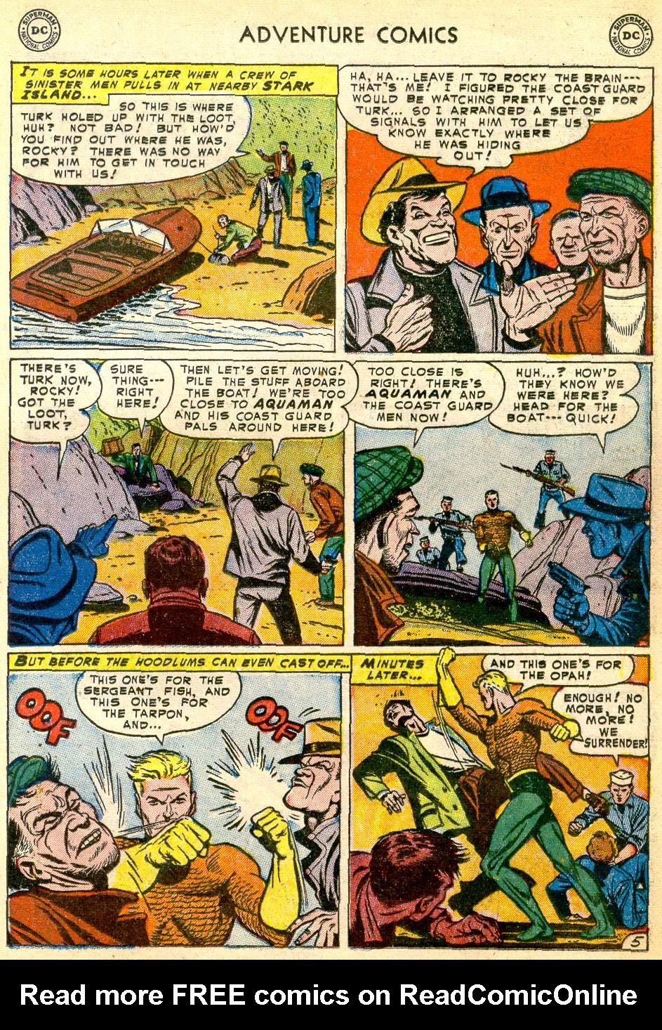 Read online Adventure Comics (1938) comic -  Issue #192 - 21