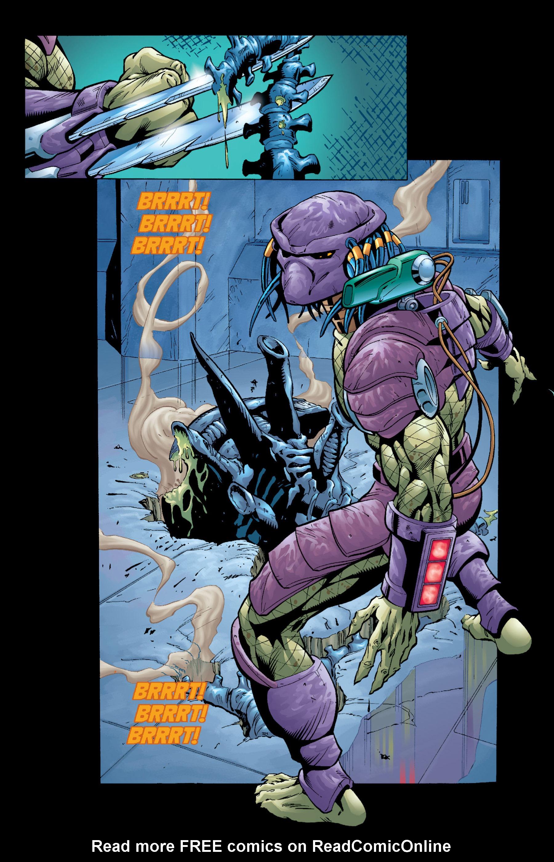 Read online Aliens vs. Predator Omnibus comic -  Issue # _TPB 2 Part 4 - 76