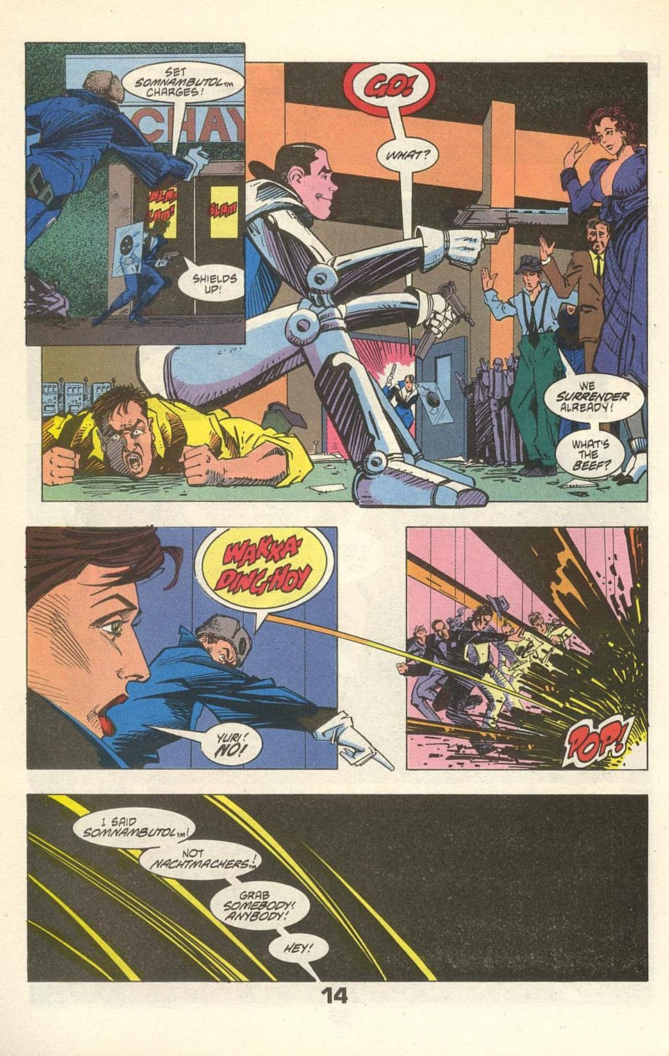 Read online American Flagg! comic -  Issue #31 - 18