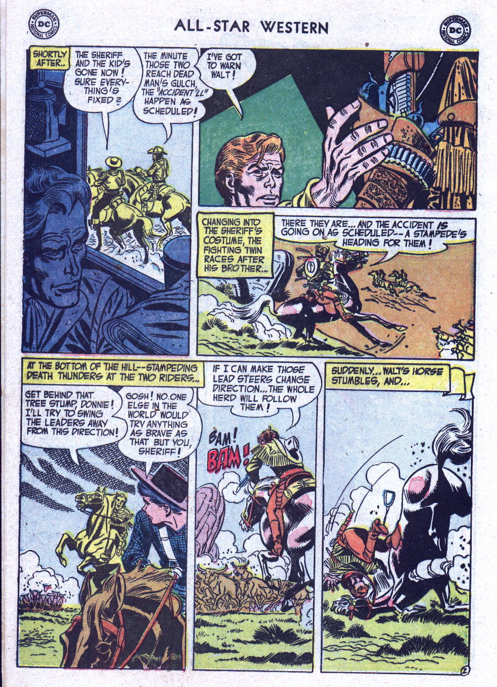 Read online All-Star Western (1951) comic -  Issue #71 - 12