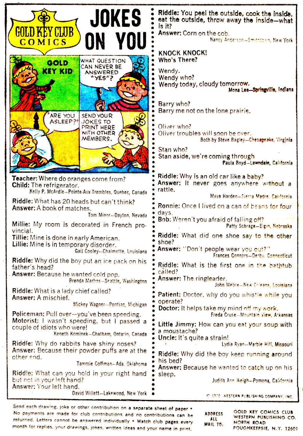 Read online Scooby-Doo... Where Are You! (1970) comic -  Issue #3 - 20