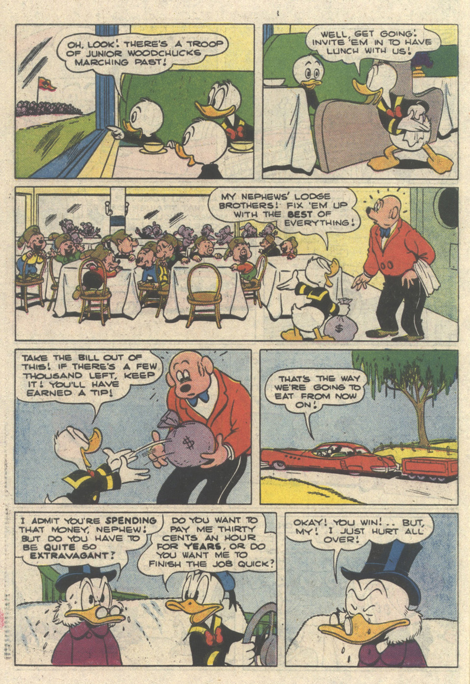 Read online Uncle Scrooge (1953) comic -  Issue #216 - 30