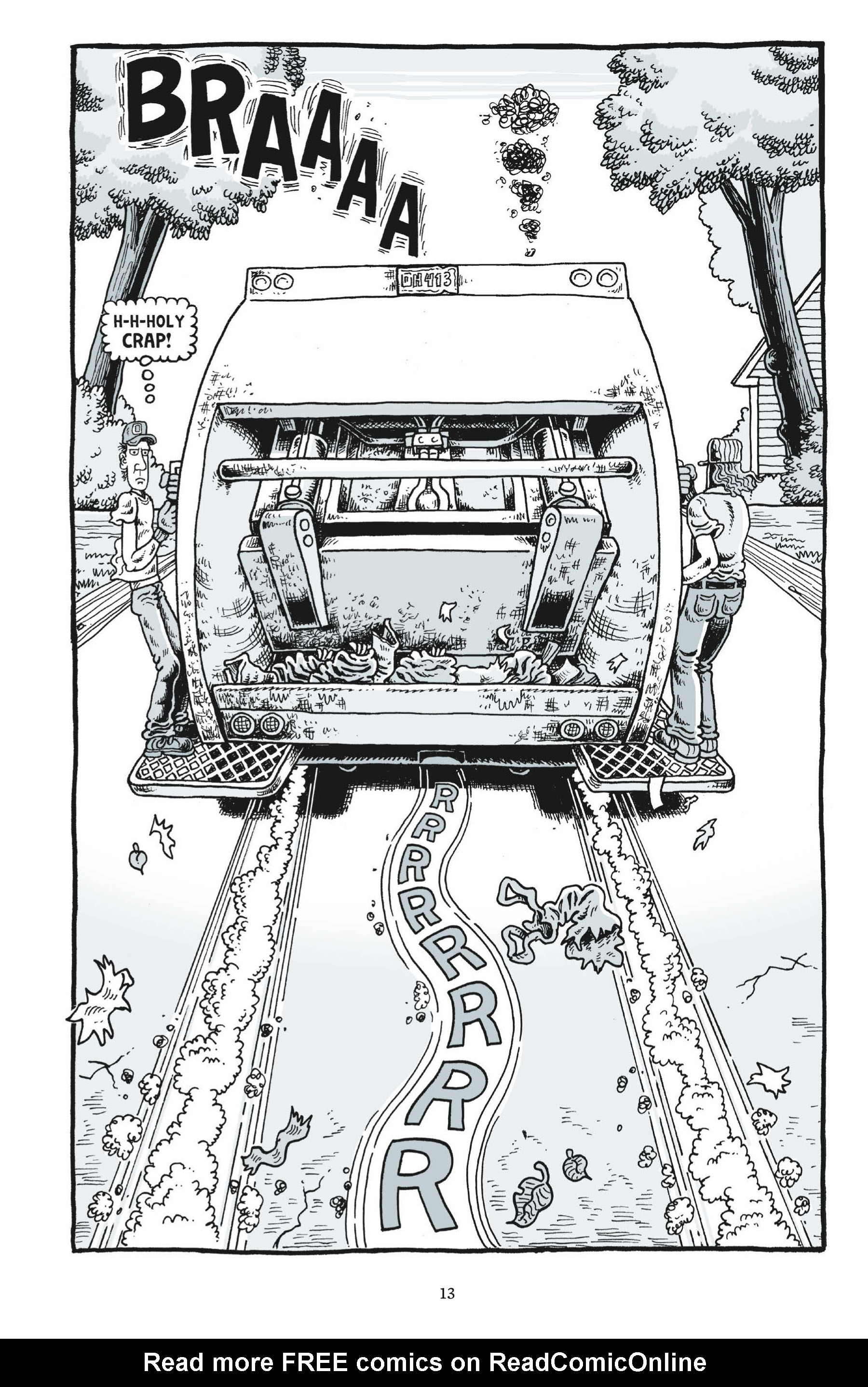 Read online Trashed comic -  Issue # Full - 15
