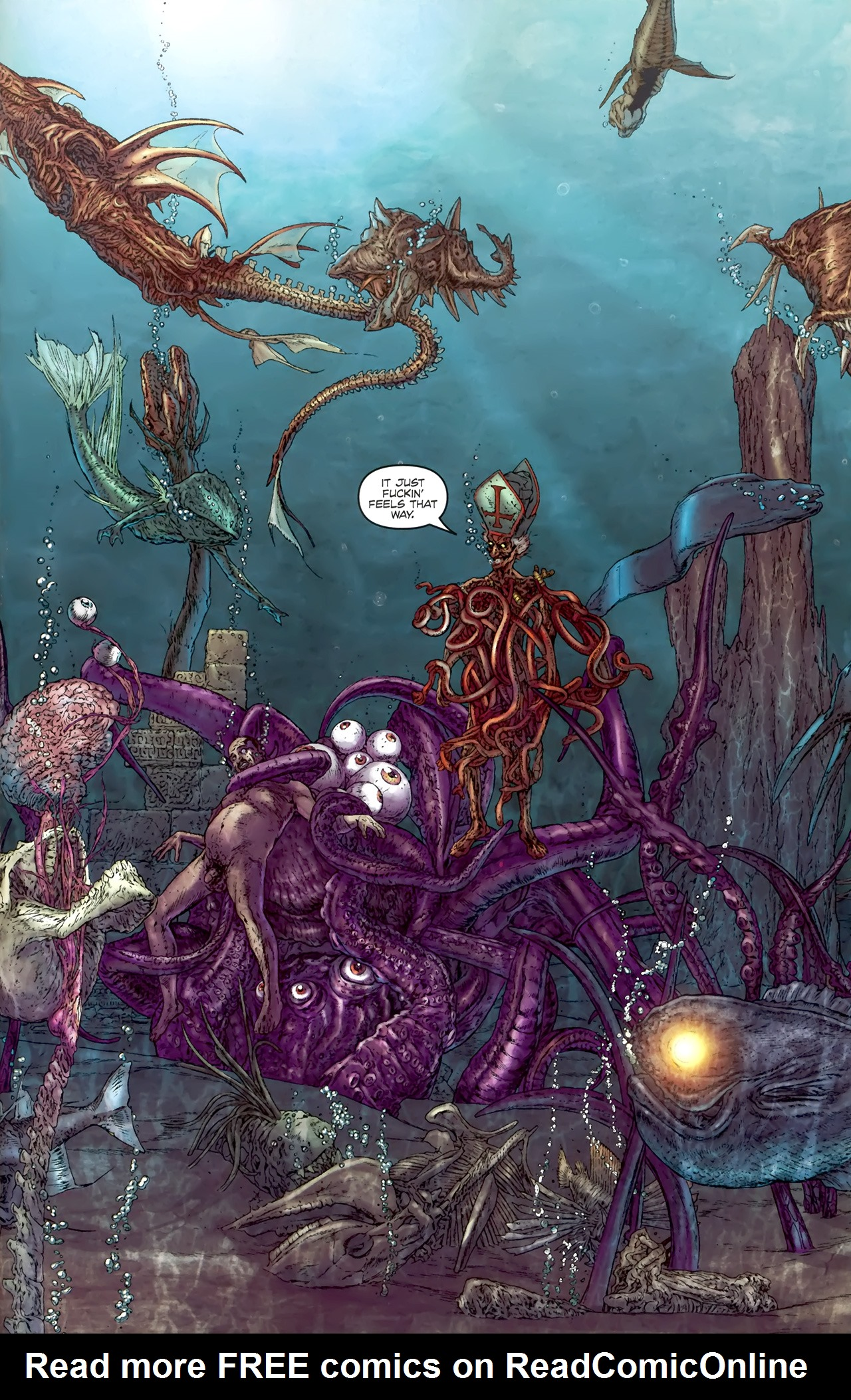 Read online Chronicles of Wormwood: The Last Battle comic -  Issue #4 - 12