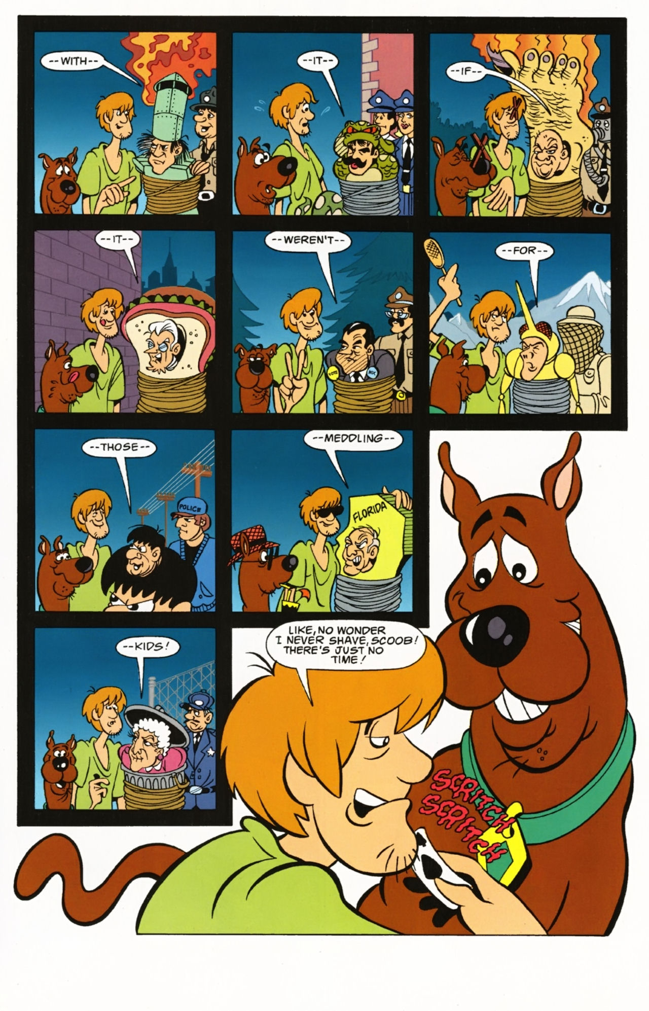 Read online Scooby-Doo: Where Are You? comic -  Issue #1 - 29