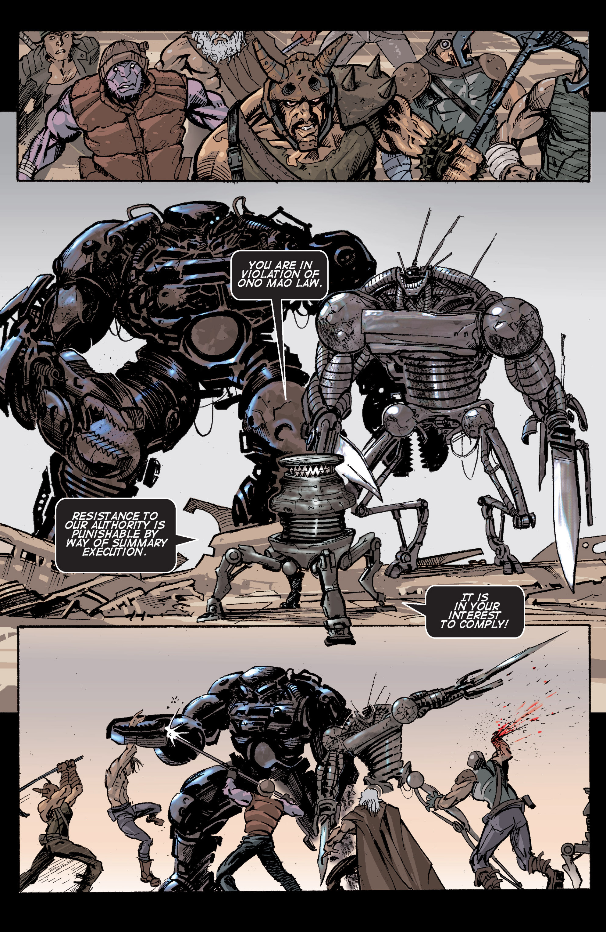 Read online Planetoid comic -  Issue # TPB - 69