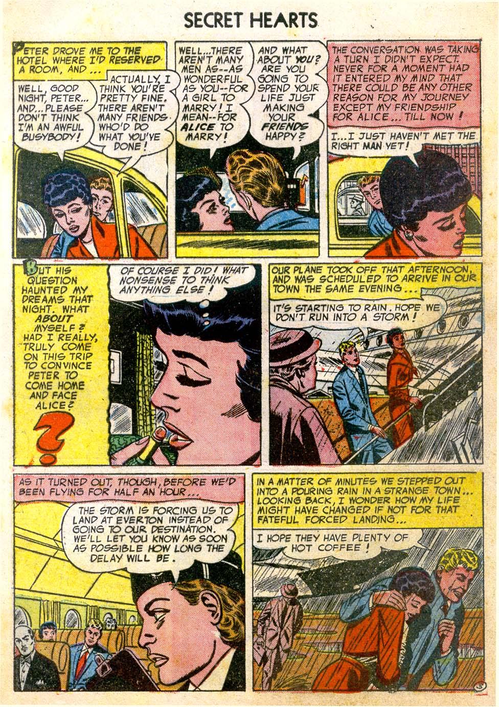 Read online Secret Hearts comic -  Issue #26 - 5