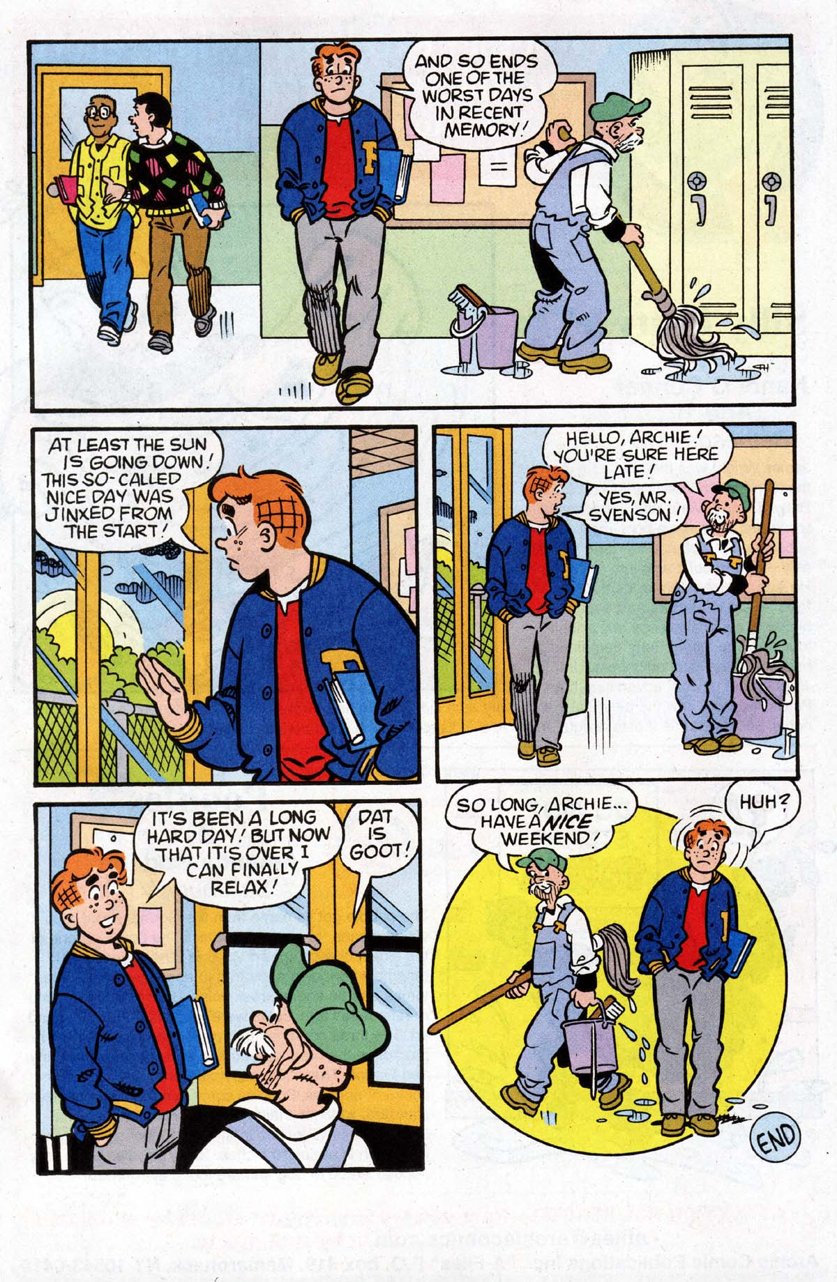 Read online Archie (1960) comic -  Issue #528 - 13