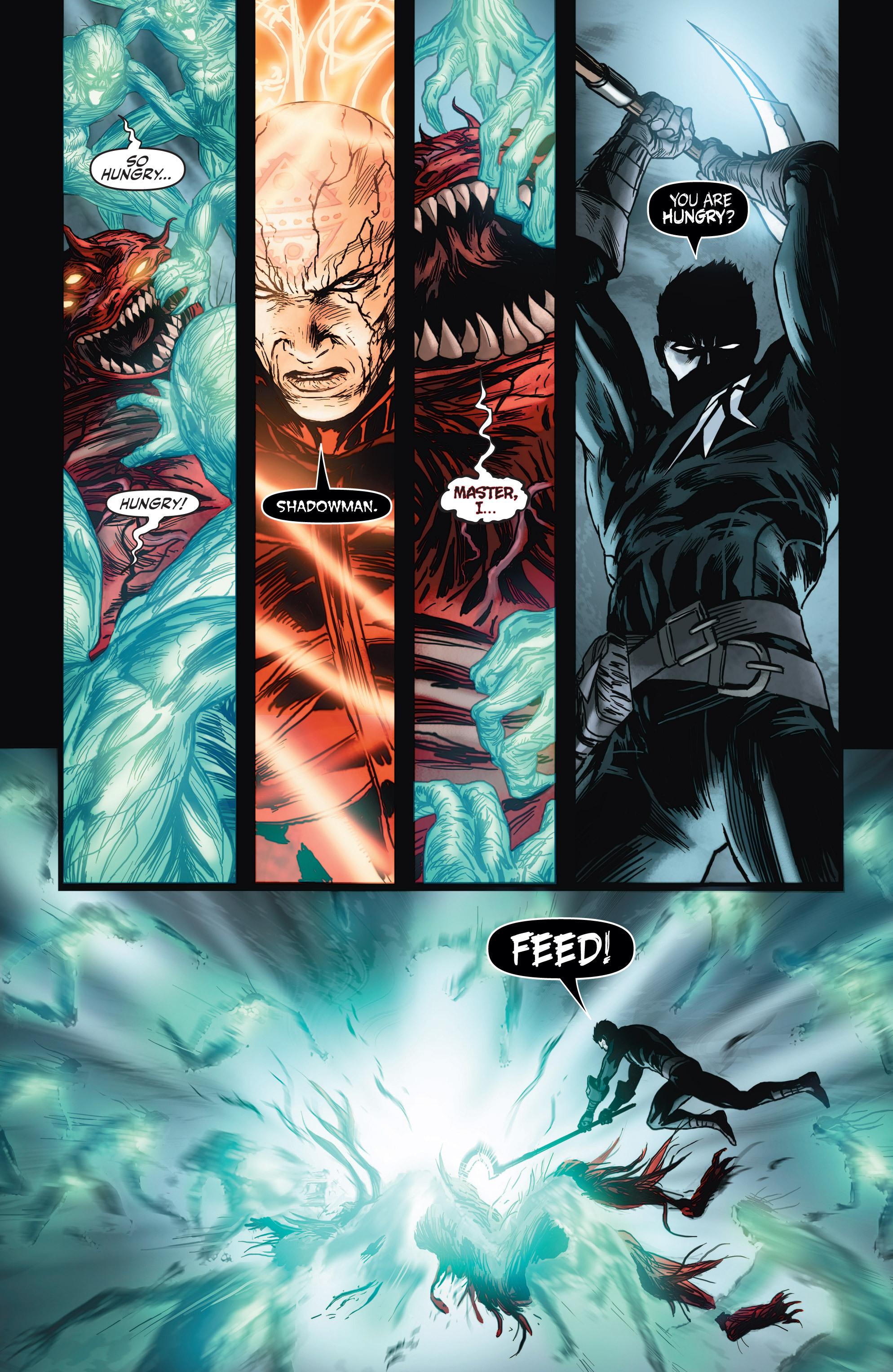 Read online Shadowman (2012) comic -  Issue #4 - 19