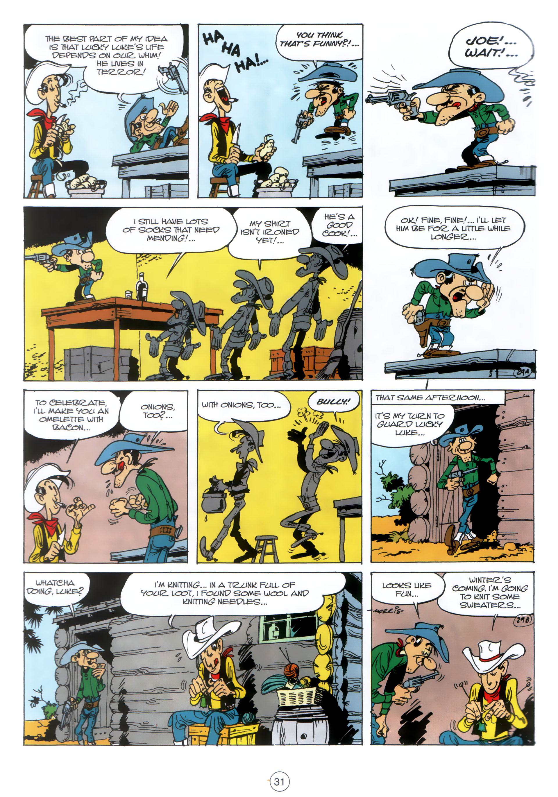 Read online A Lucky Luke Adventure comic -  Issue #30 - 30