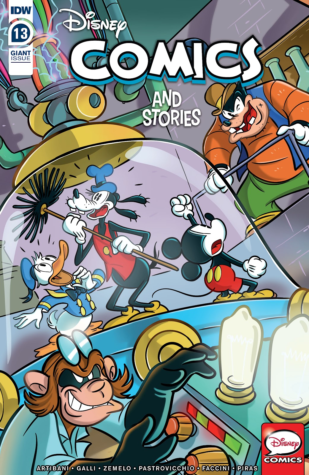 Disney Comics and Stories 13 Page 1