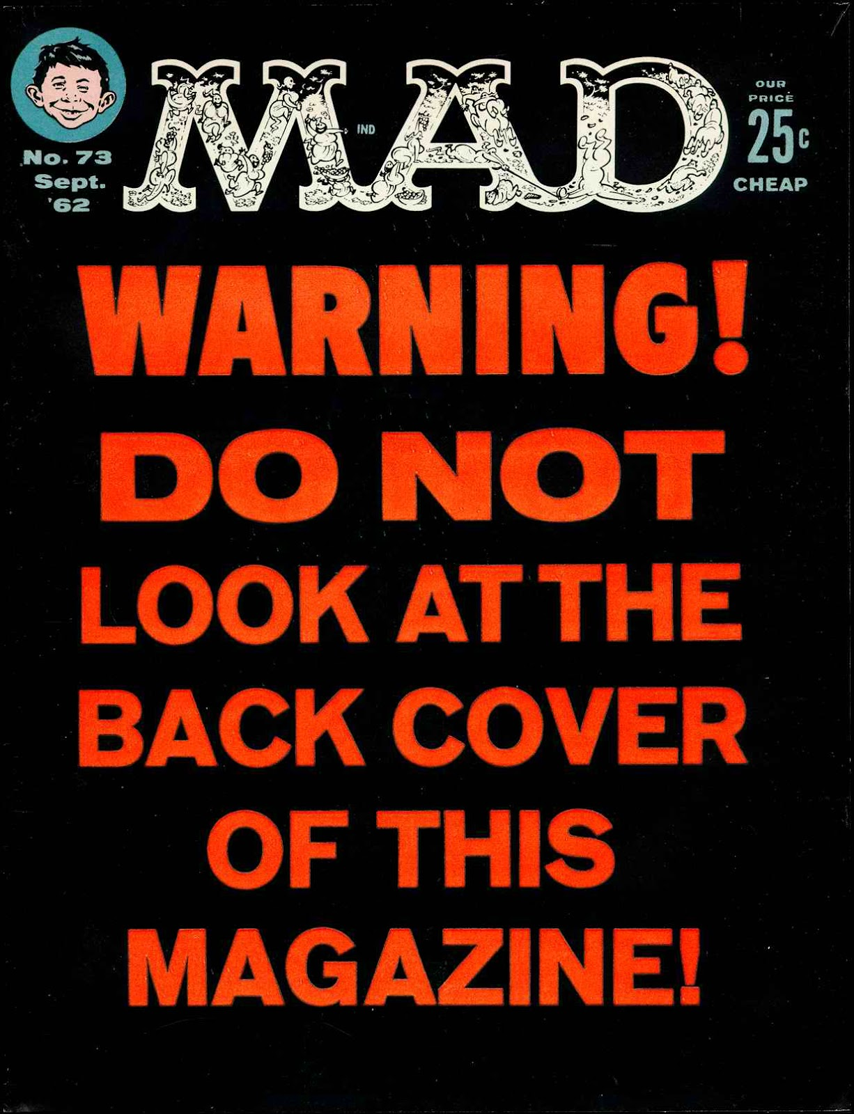 MAD issue 73 - Page 1