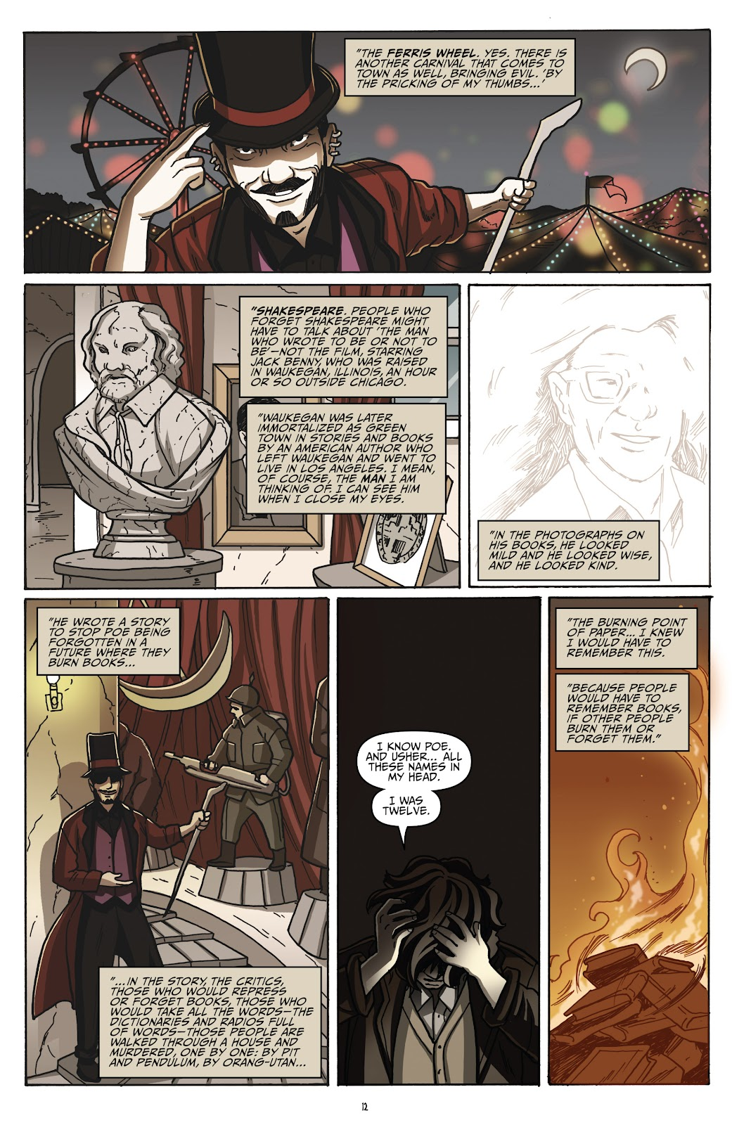 Read online Shadow Show: Stories in Celebration of Ray Bradbury comic -  Issue #2 - 14
