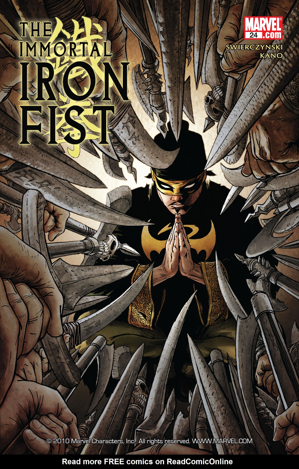 The Immortal Iron Fist issue 24 - Page 1
