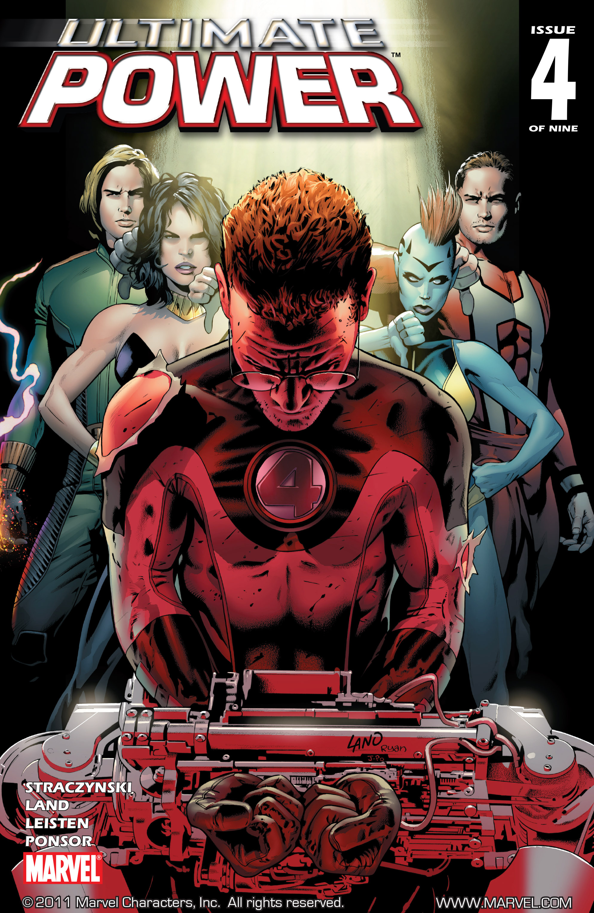 Read online Ultimate Power comic -  Issue #4 - 1