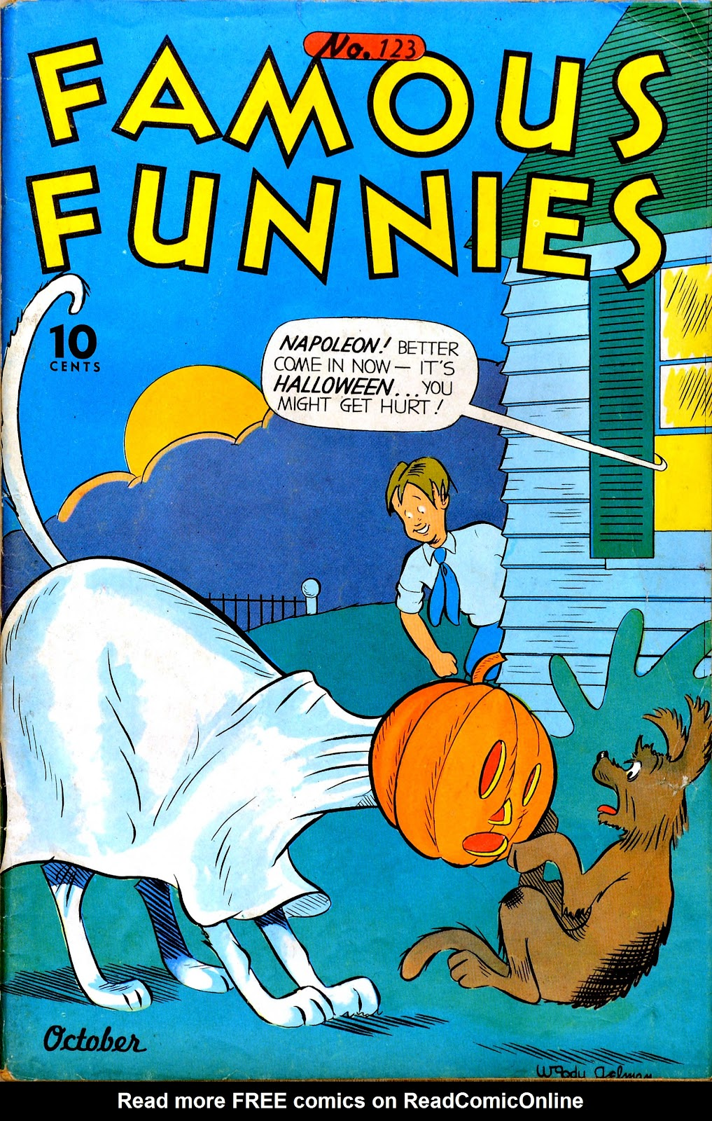 Read online Famous Funnies comic -  Issue #123 - 1