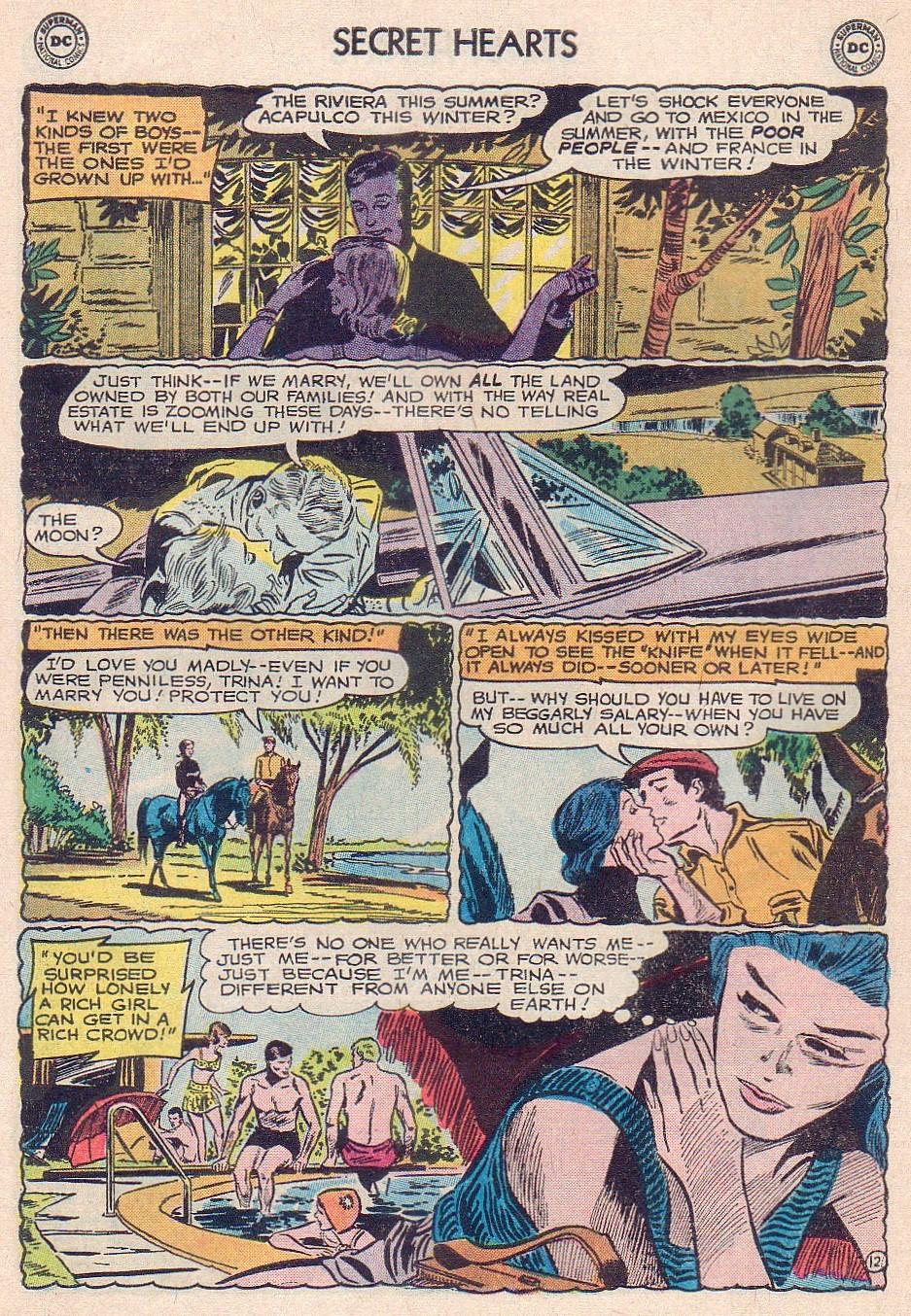 Read online Secret Hearts comic -  Issue #102 - 30