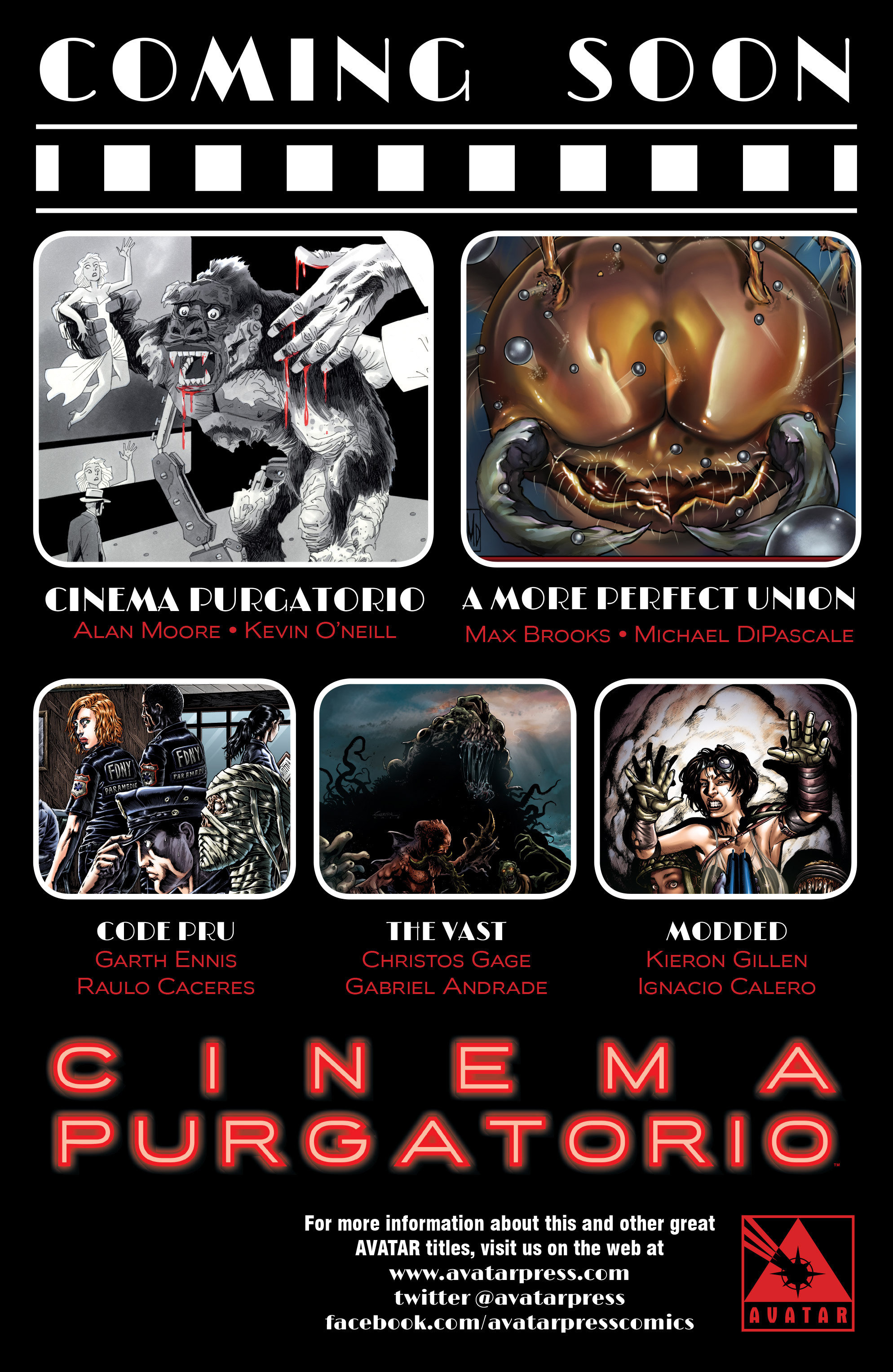 Read online Alan Moore's Cinema Purgatorio comic -  Issue #4 - 52