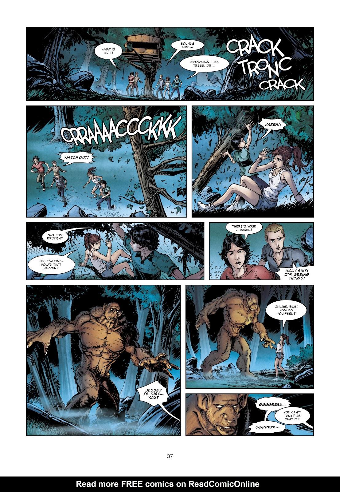 Read online Vigilantes comic -  Issue #2 - 37